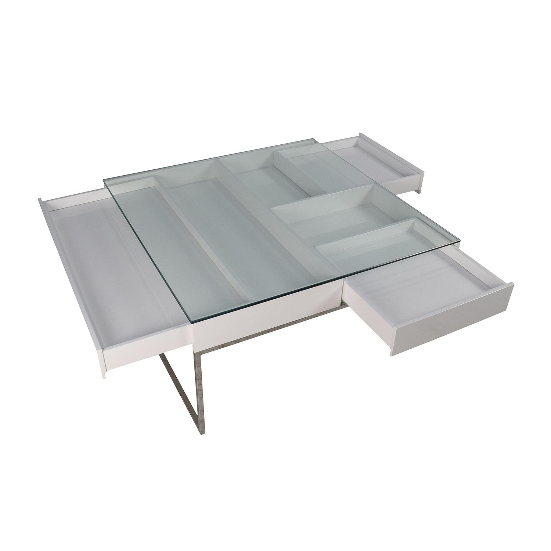 BoConcept BoConcept White Coffee Table dimensions