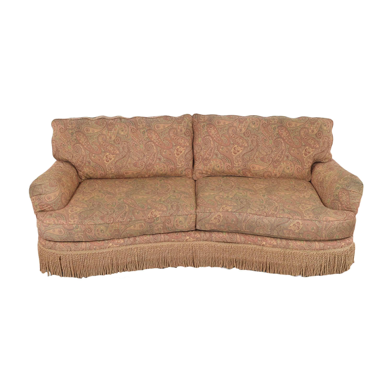 buy Schnadig Fringe Conversation Sofa Schnadig Classic Sofas