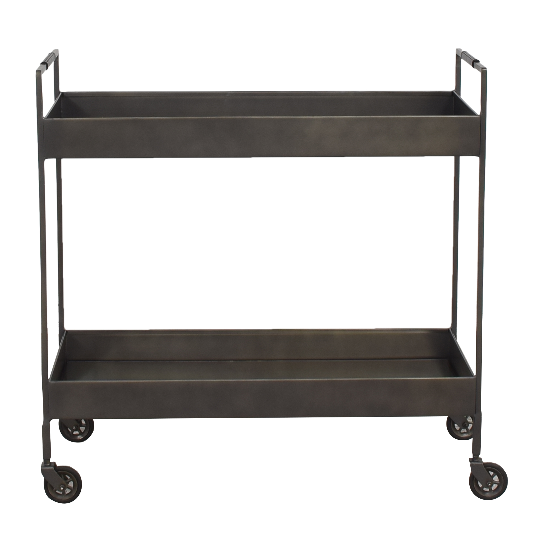 Crate & Barrel Crate & Barrel Libations Bar Cart ma