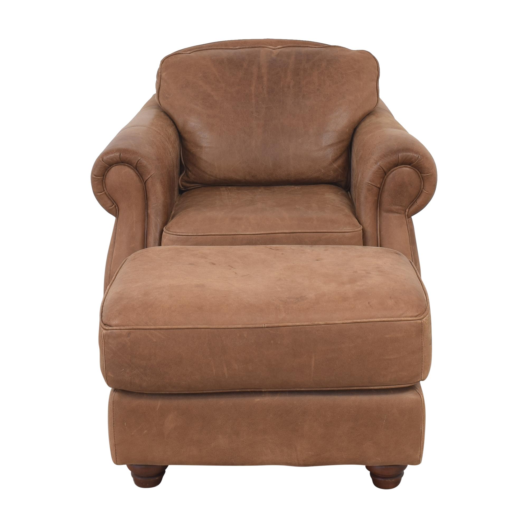 Domain Home Domain Home Fashions Club Chair and Ottoman ct