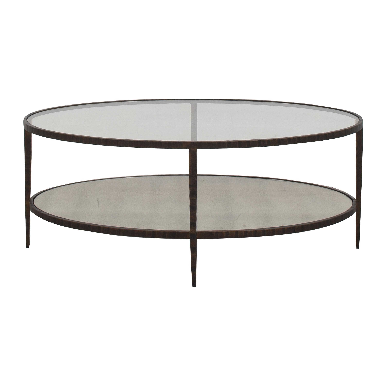 Crate & Barrel Crate & Barrel Oval Coffee Table ma