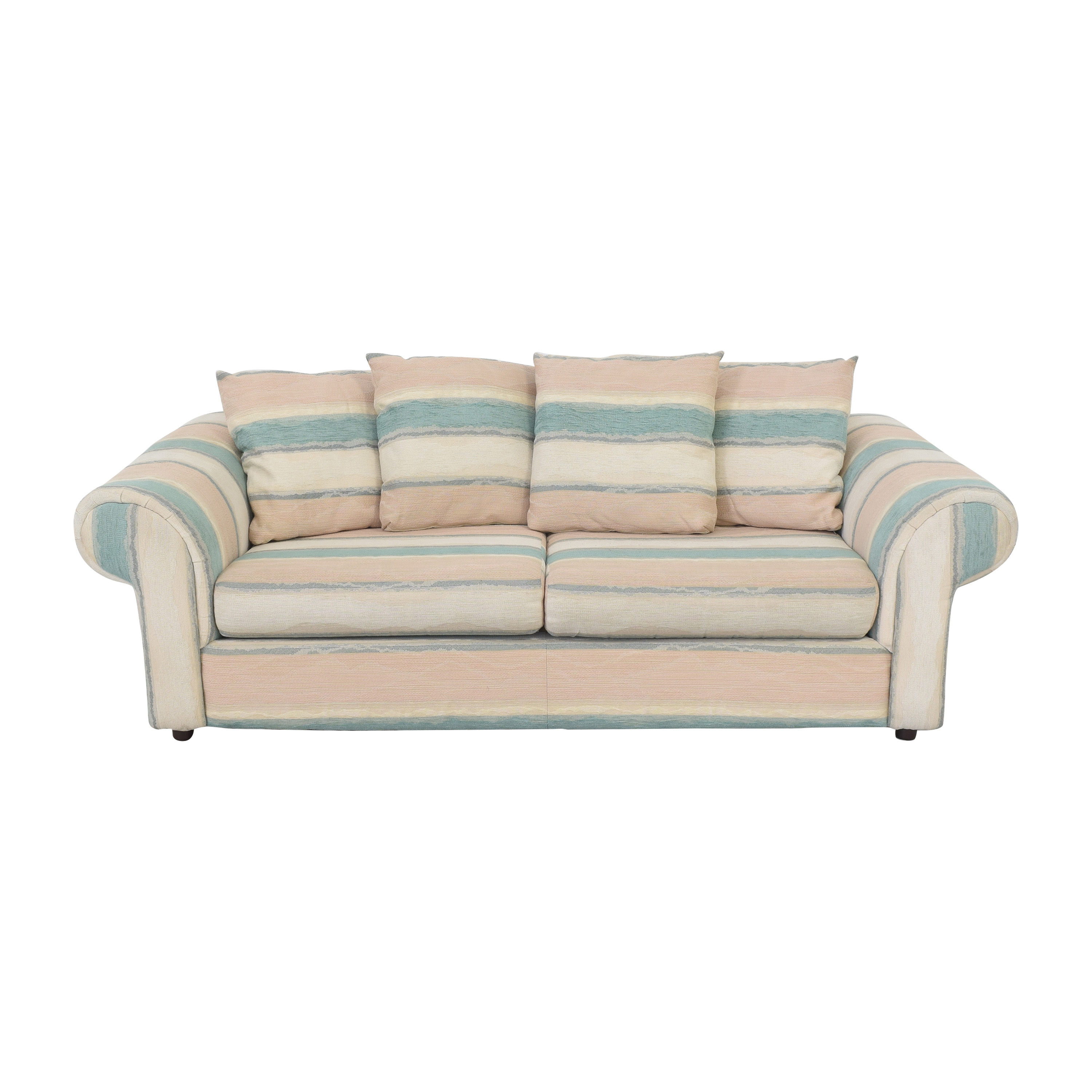 shop  Striped Pillow Back Sofa online