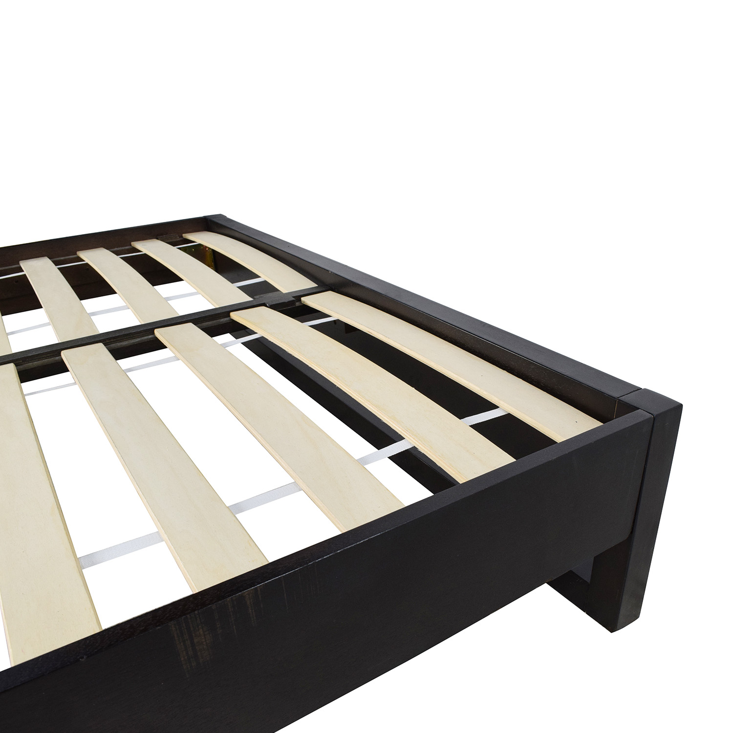 buy west elm full size wooden platform bed frame west elm
