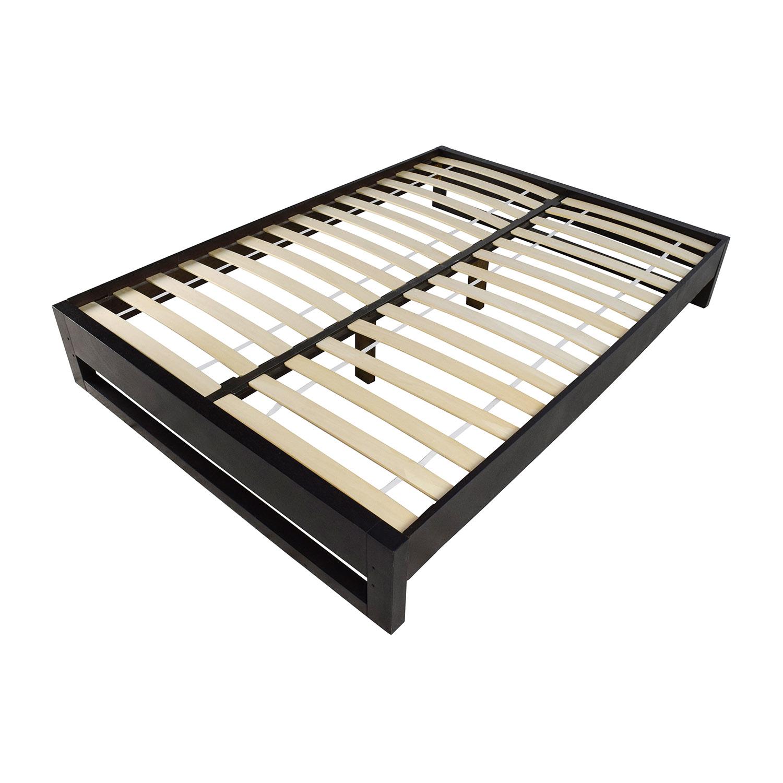 West Elm Full Size Wooden Platform Bed Frame West Elm