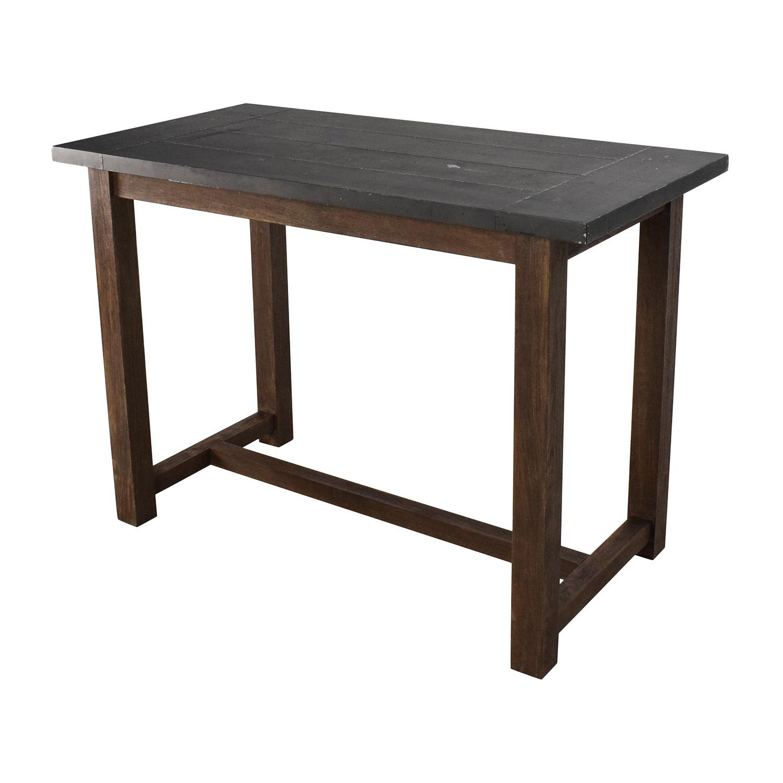 Crate Barrel Table: Crate And Barrel Crate & Barrel Galvin High