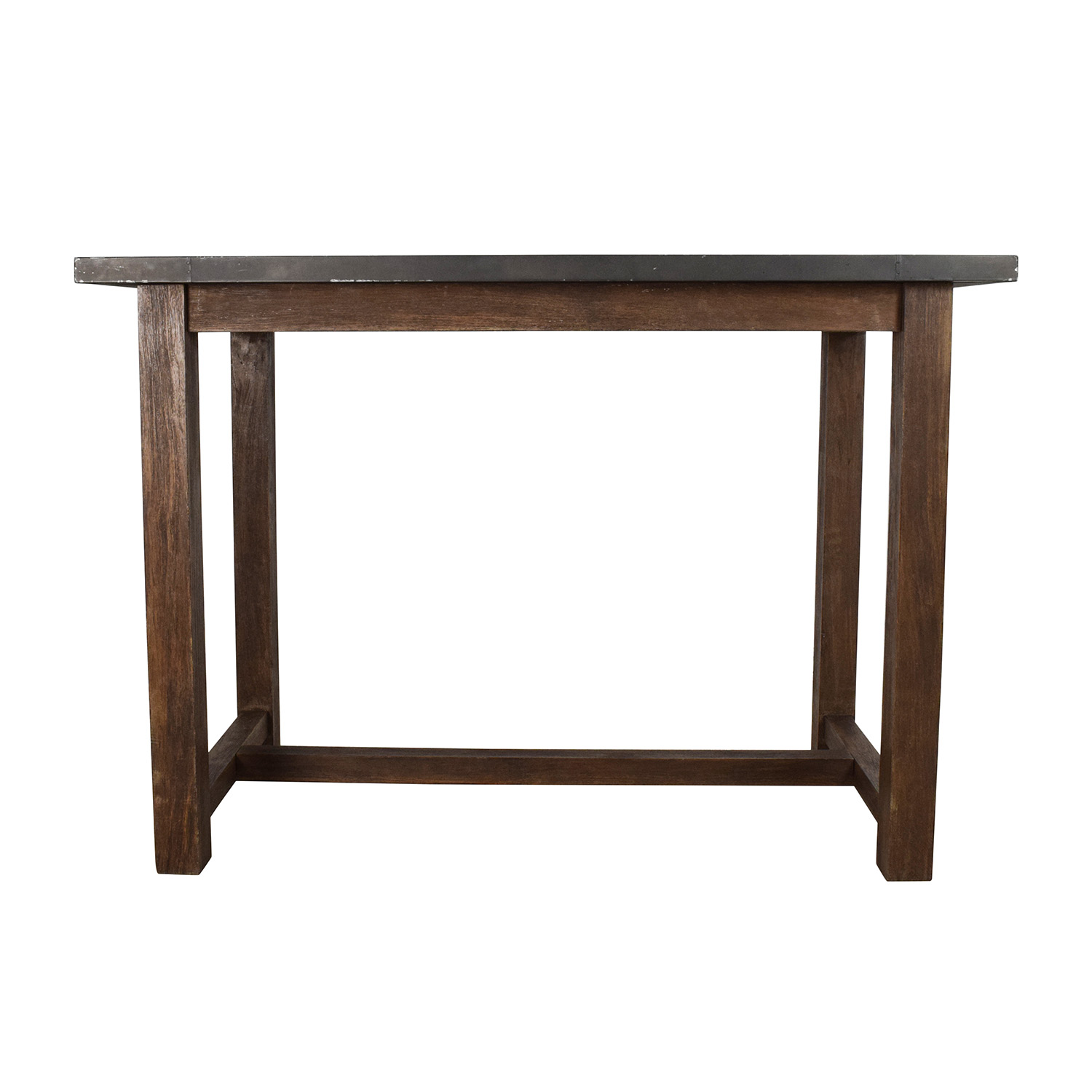 69% OFF Crate and Barrel Crate & Barrel Galvin High Table Tables