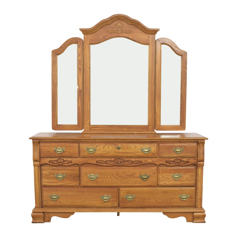 Webb Furniture Webb Dresser with Mirror on sale