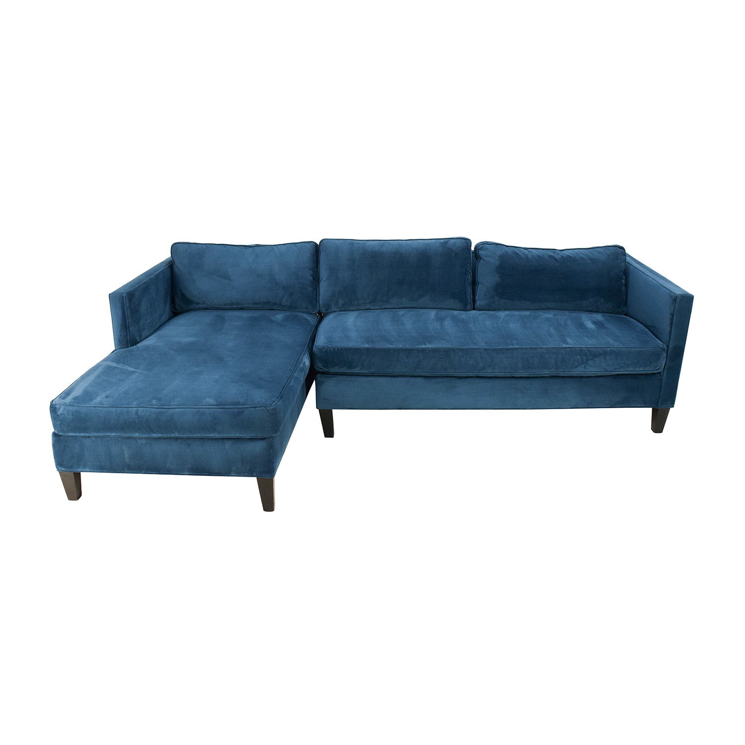 West Elm West Elm Dunham Sectional Sofa on sale