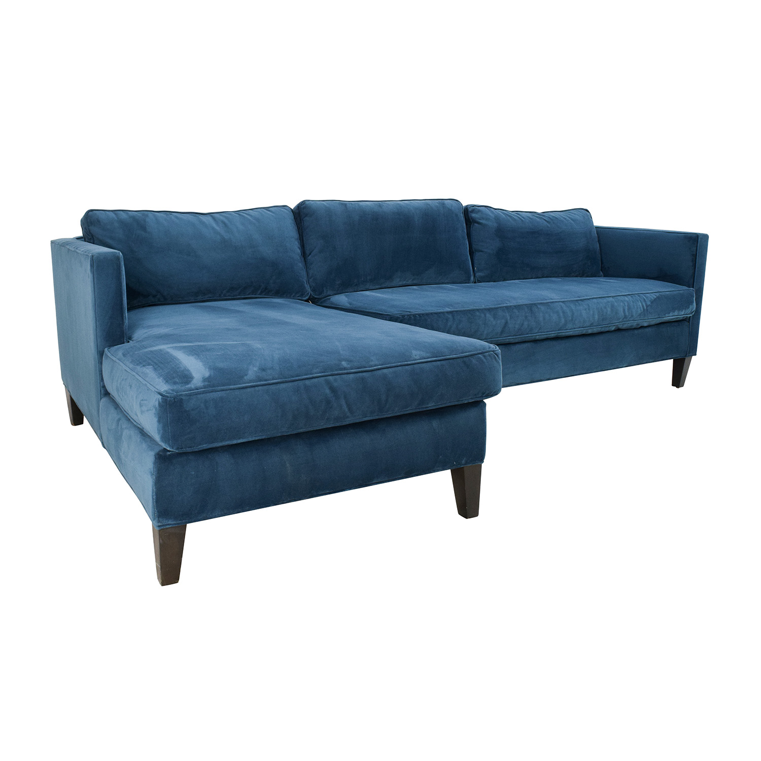 67 off west elm west elm dunham sectional sofa sofas for Best west elm sofa