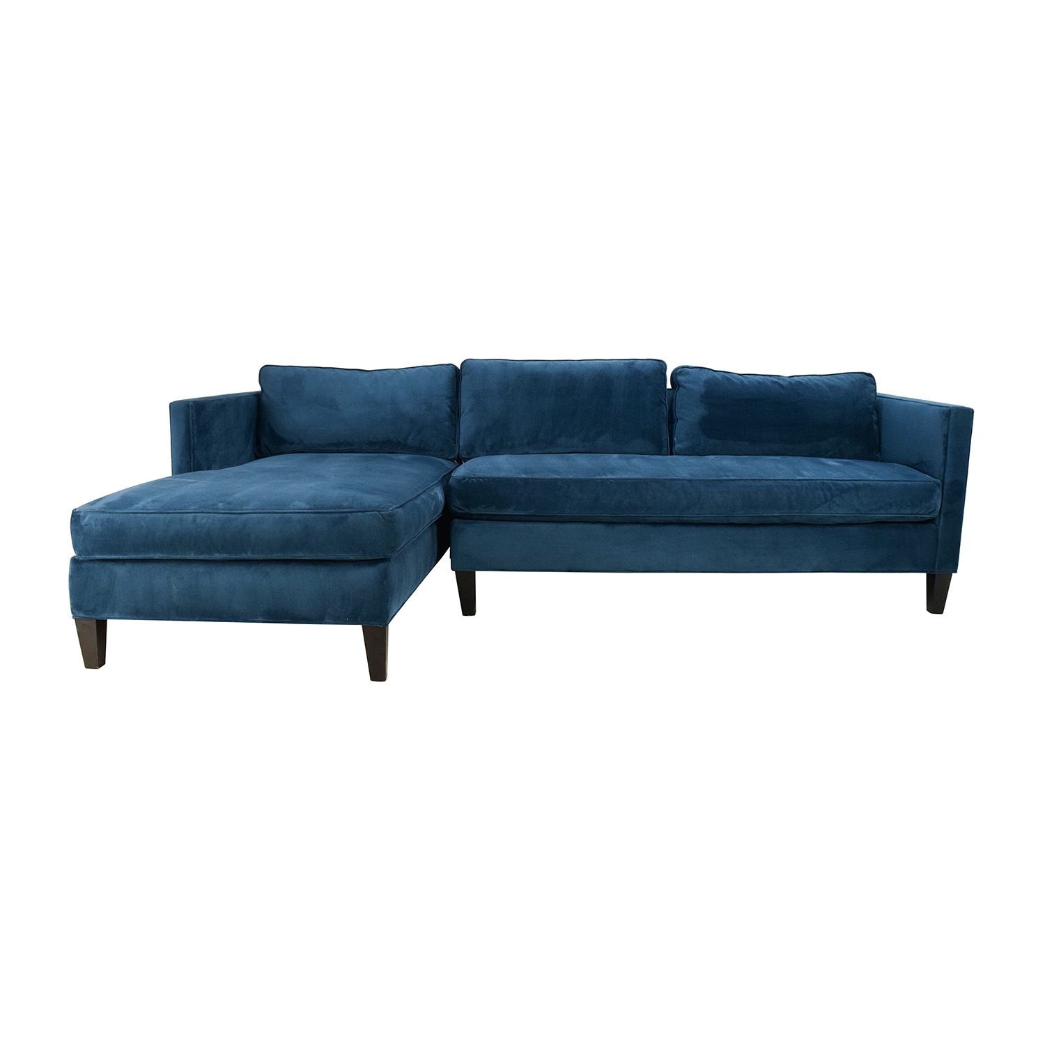 West Elm Dunham Sectional Sofa sale