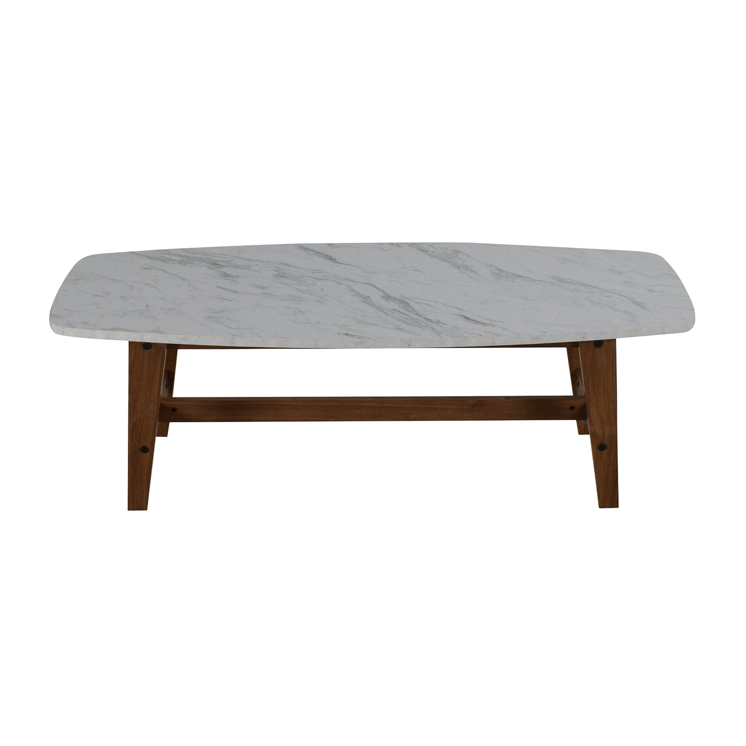 89 Off Faux Marble Coffee Table Tables