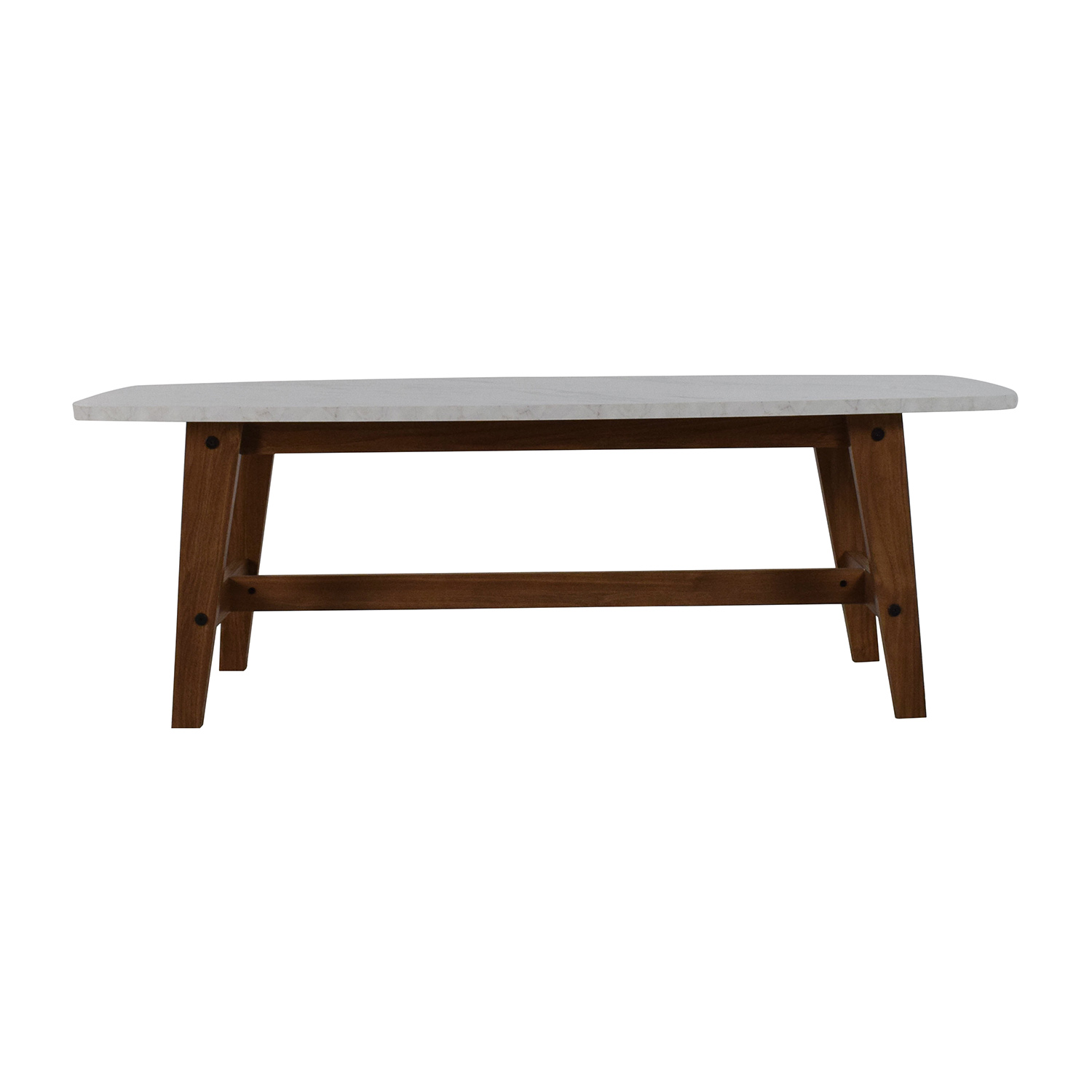 82 Off Faux Marble Coffee Table Tables