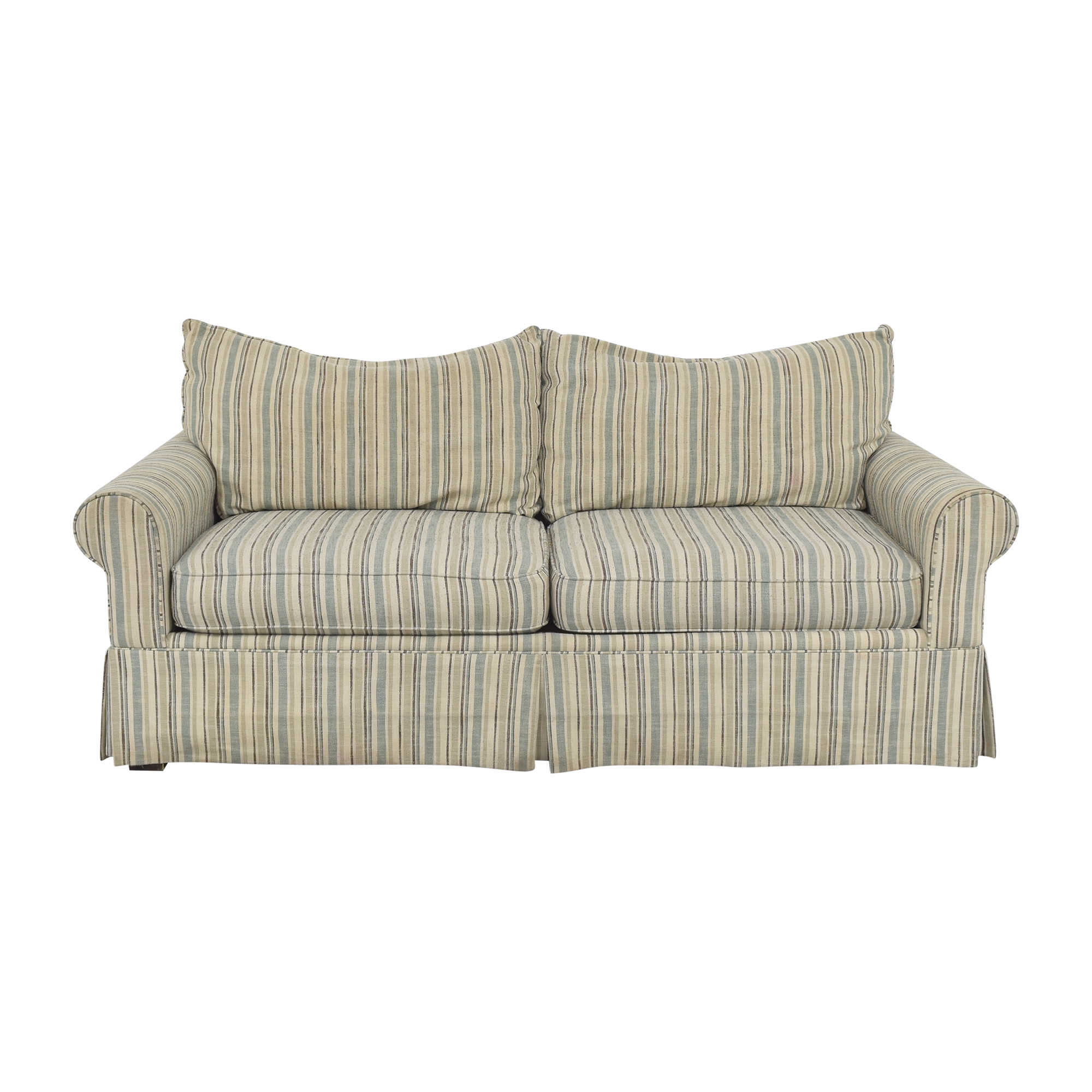 Raymour & Flanigan Striped Sofa / Classic Sofas