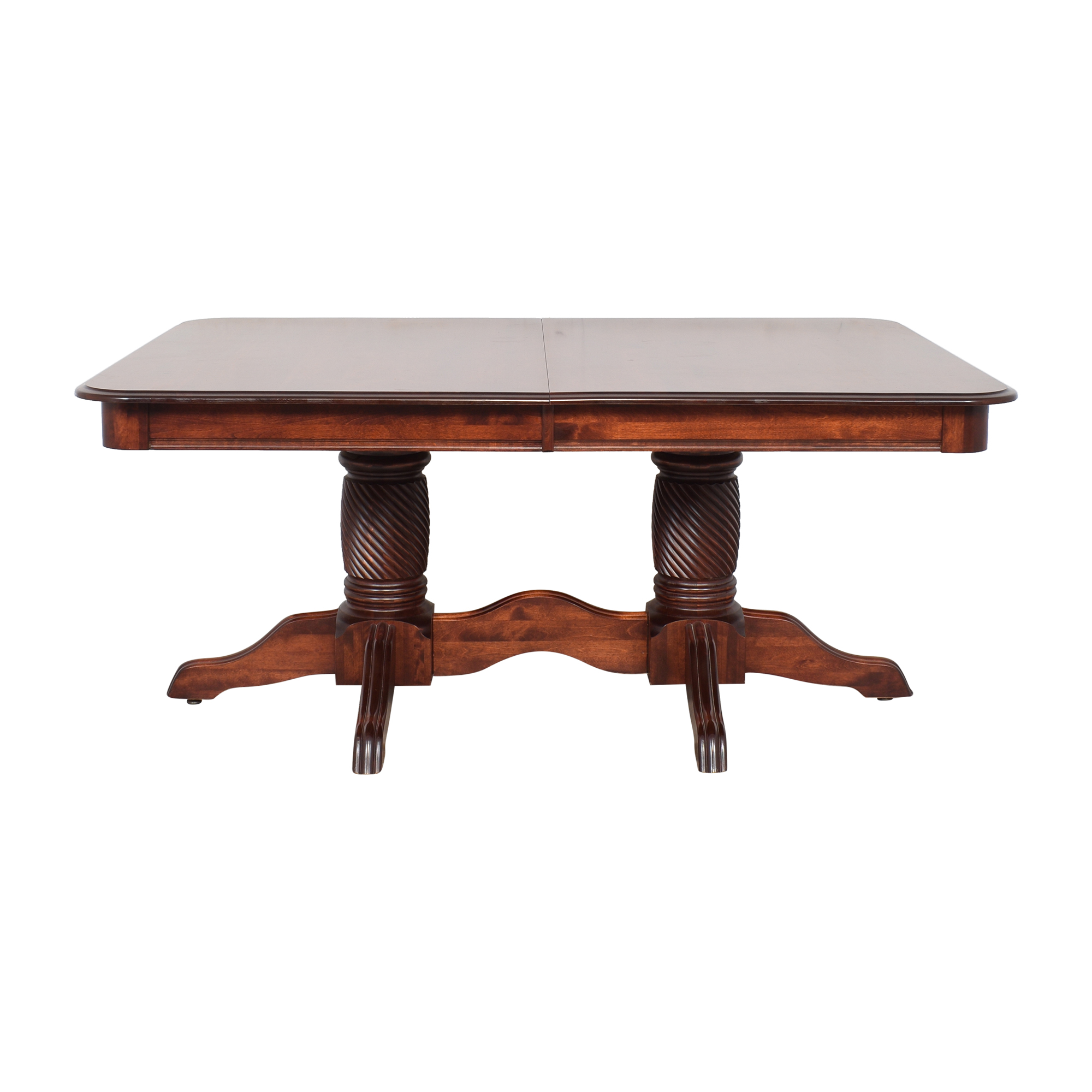 buy Canadel Canadel Double Pedestal Extendable Dining Table online