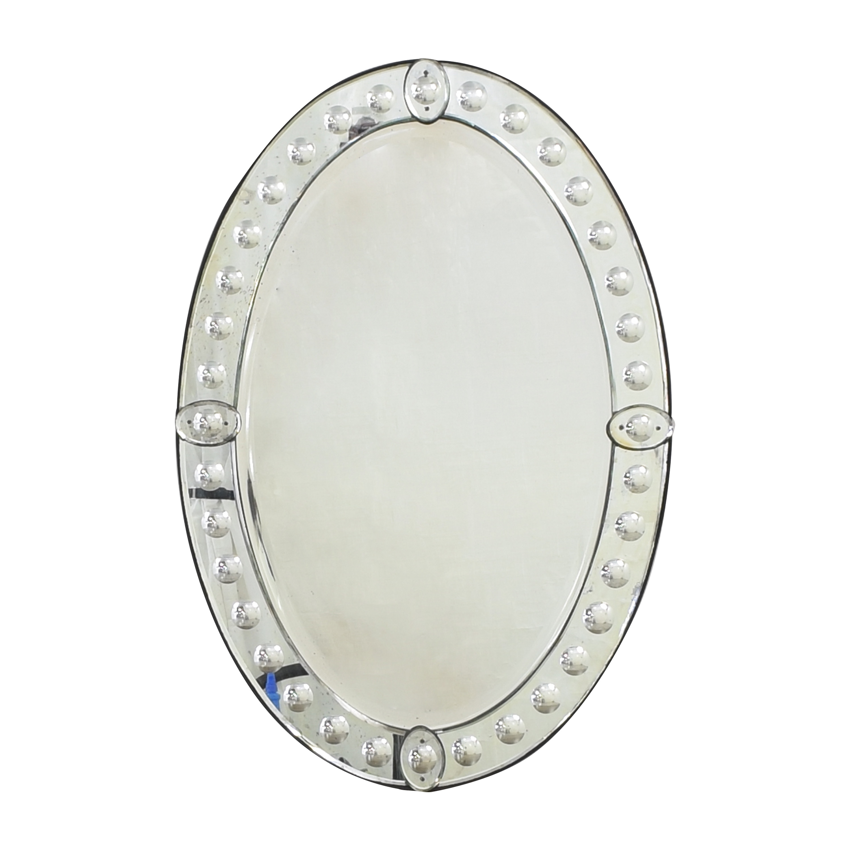 buy  Vintage Venetian Oval Mirror online