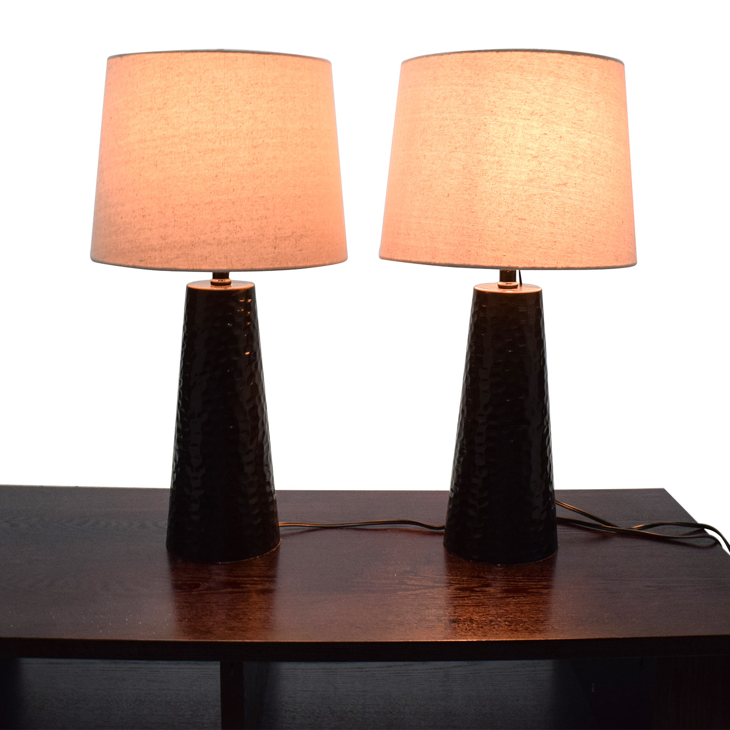 shop J. Hunt and Co J. Hunt & Co Night Table Lamp Pair online