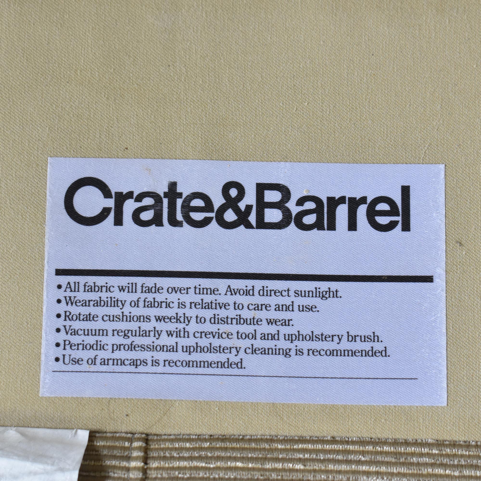 Crate & Barrel Crate & Barrel Sofa pa