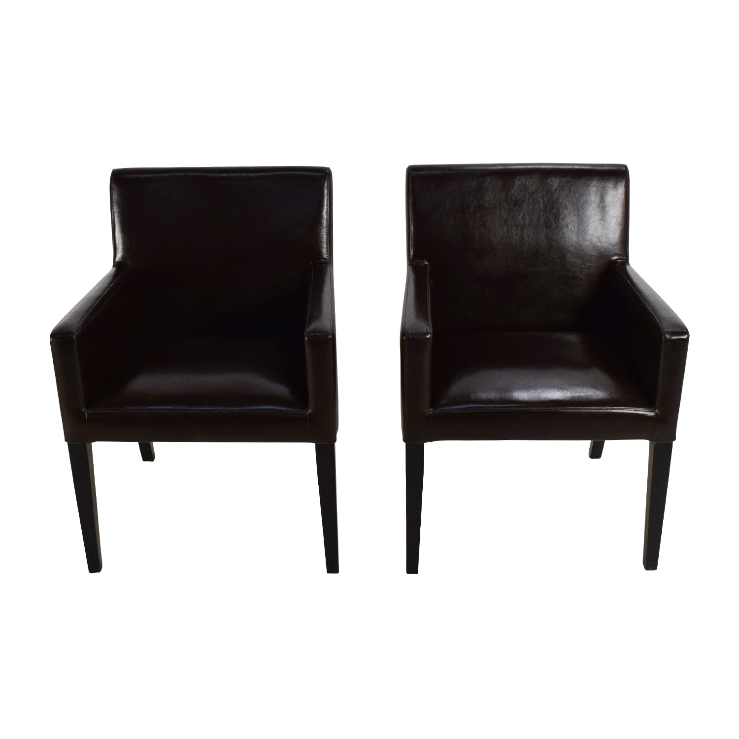 shop Black Leather Office Chairs  Dining Chairs