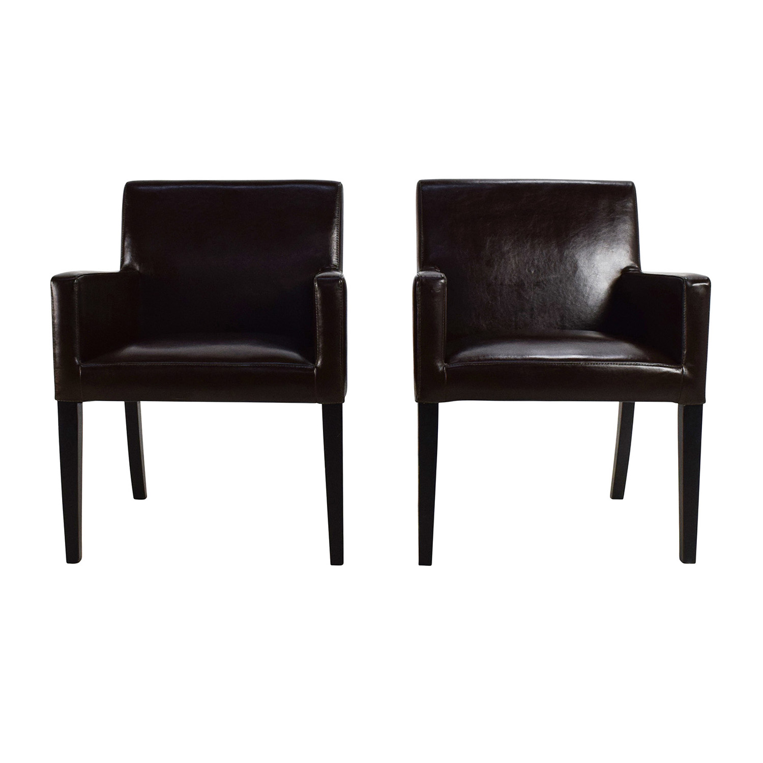 Black Leather Office Chairs on sale