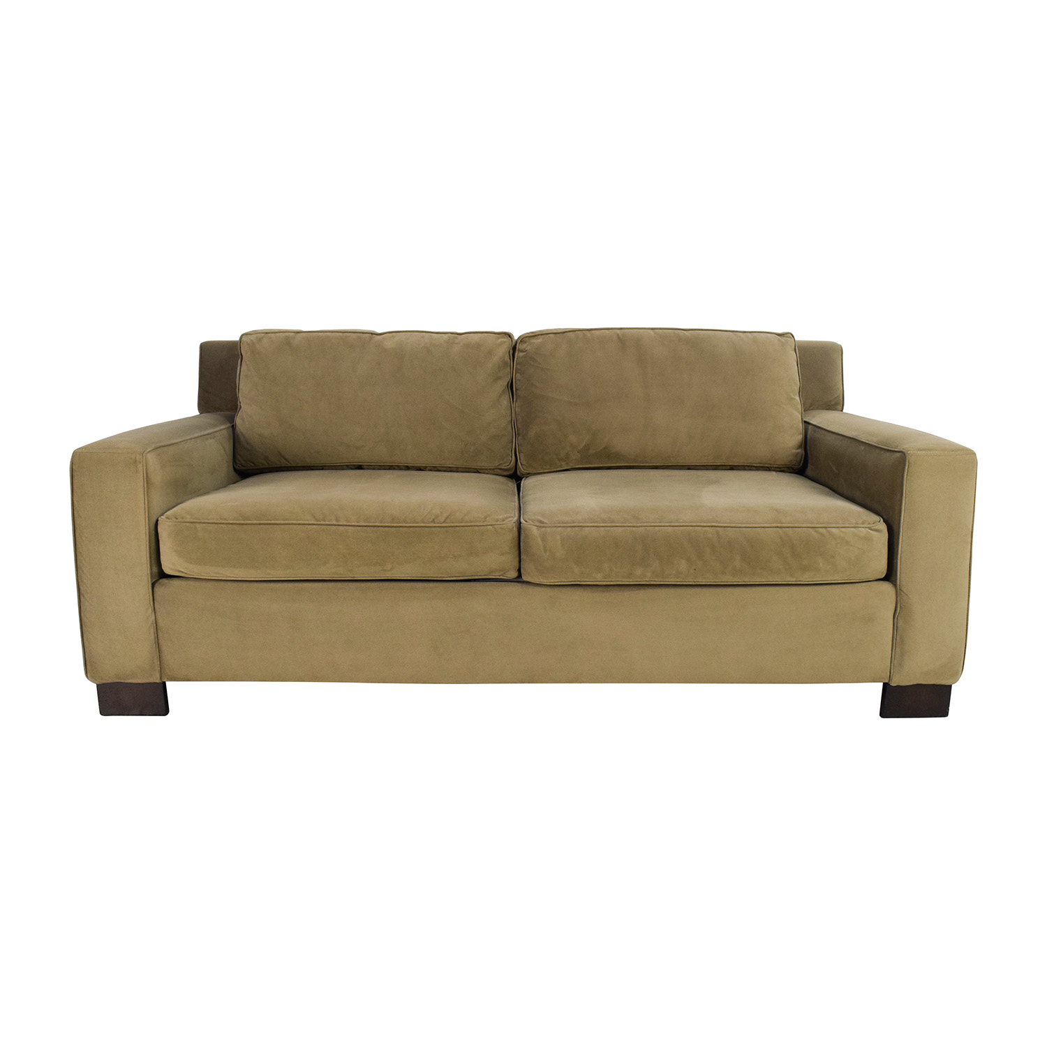 West Elm West Elm Classic Henry Beige Cushion Sofa