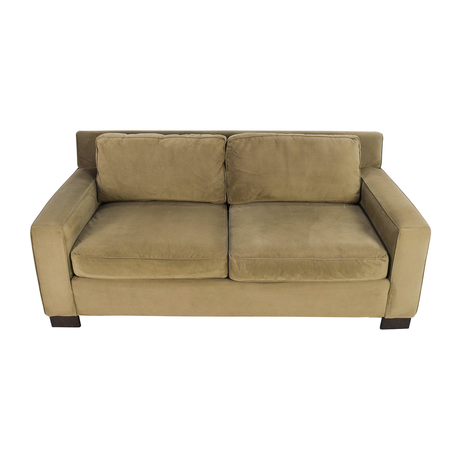 West Elm West Elm Classic Henry Beige Cushion Sofa price