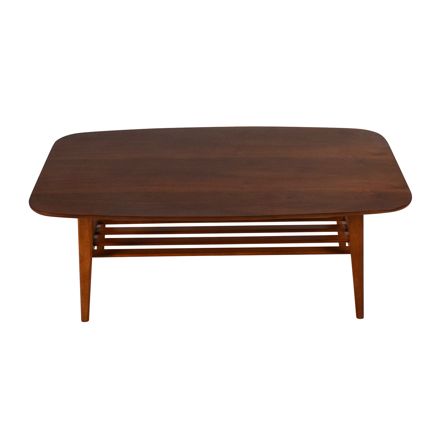 73% OFF Glass Top Coffee Table Tables