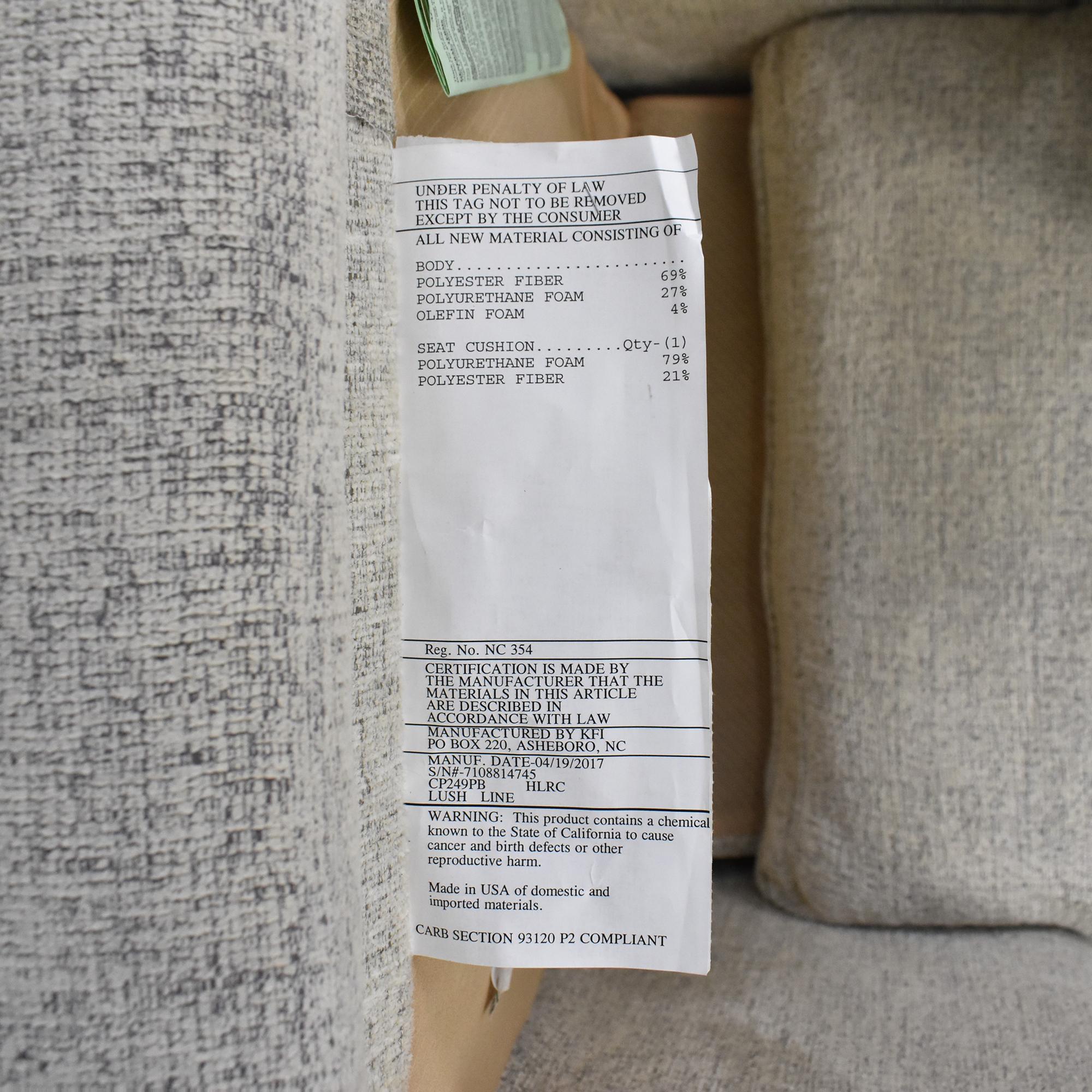 Bloomingdale's Bloomingdale's Sophie Power-Recliner Chair second hand
