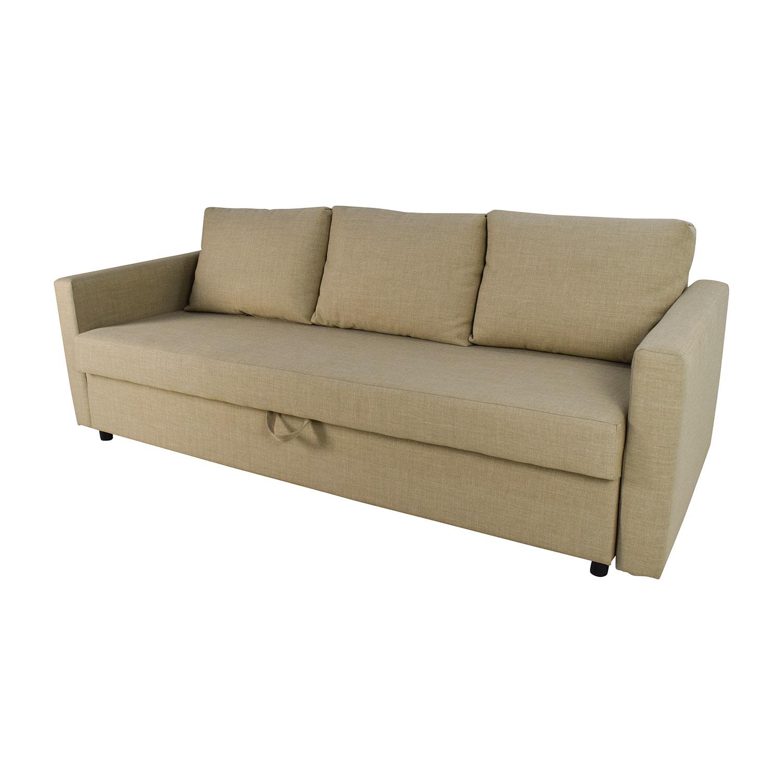 62 off ikea friheten sleeper sofa with storage sofas - Ikea sofa friheten ...