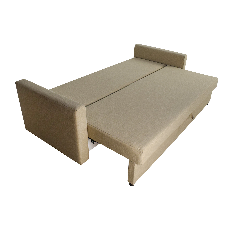 62 Off Ikea Friheten Sleeper Sofa With Storage Sofas