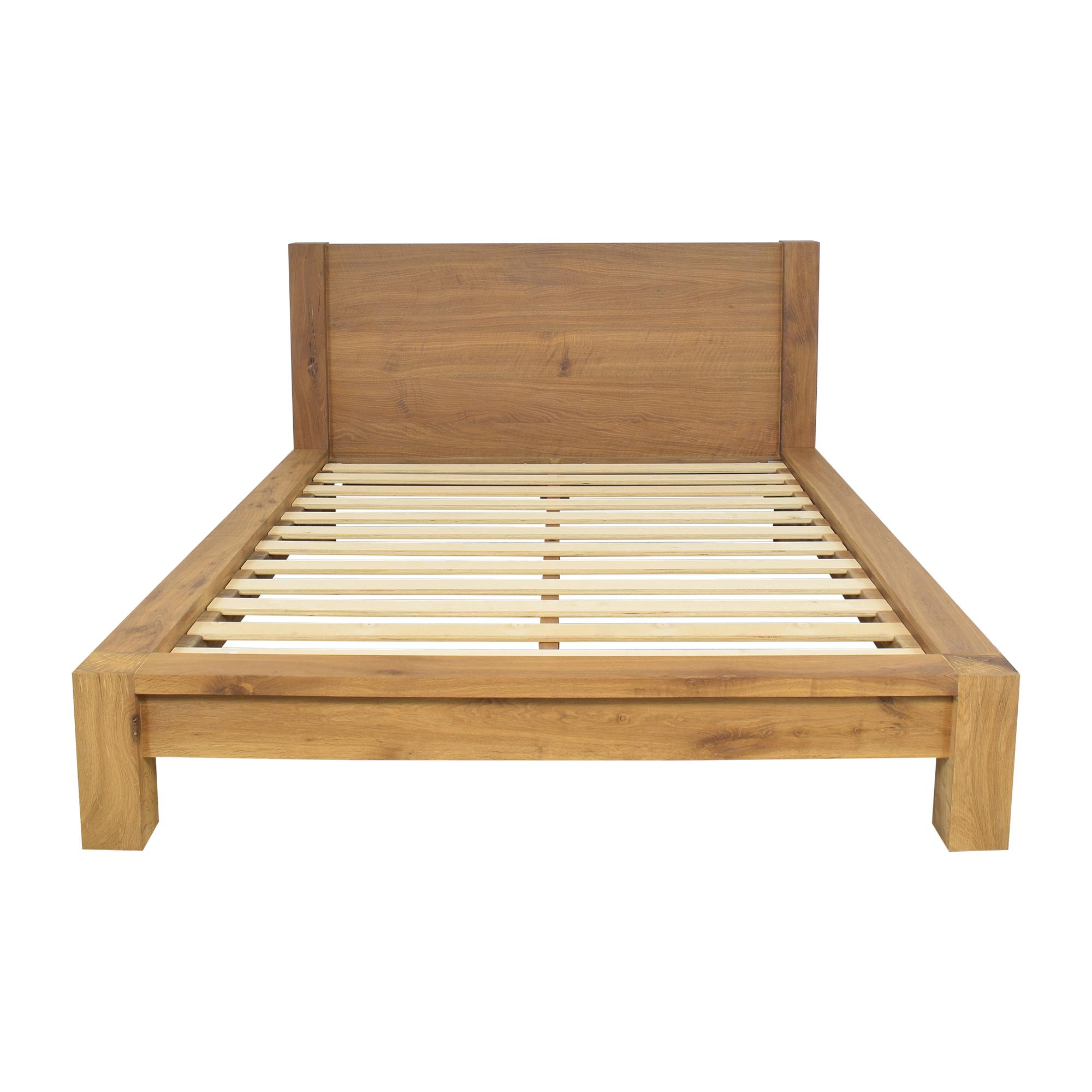 buy Crate & Barrel Big Sur Queen Bed Frame Crate & Barrel Beds