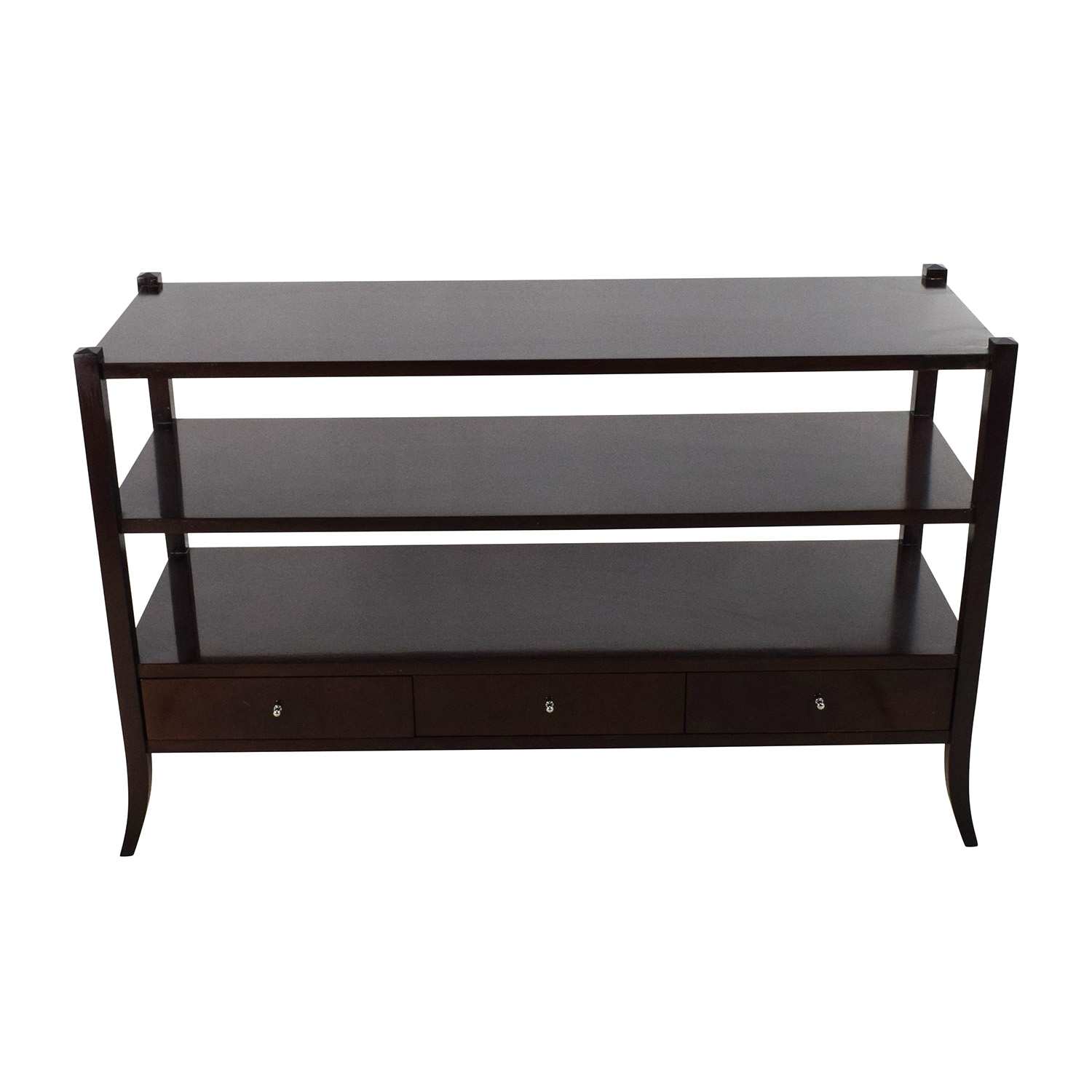 59 off west elm west elm parsons buffet storage for Side table for sectional sofa