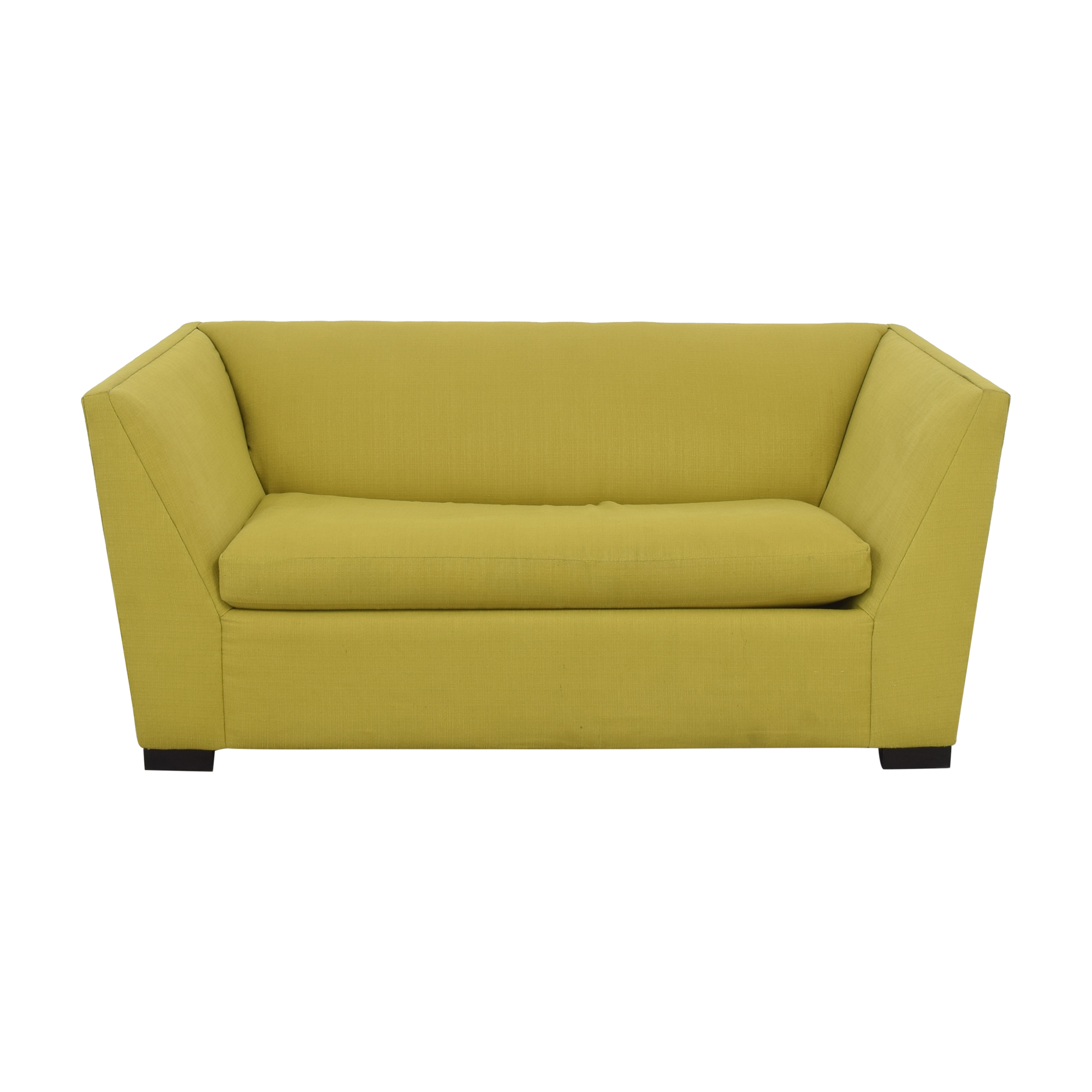 shop CB2 Julius Twin Sleeper Sofa CB2 Sofa Beds