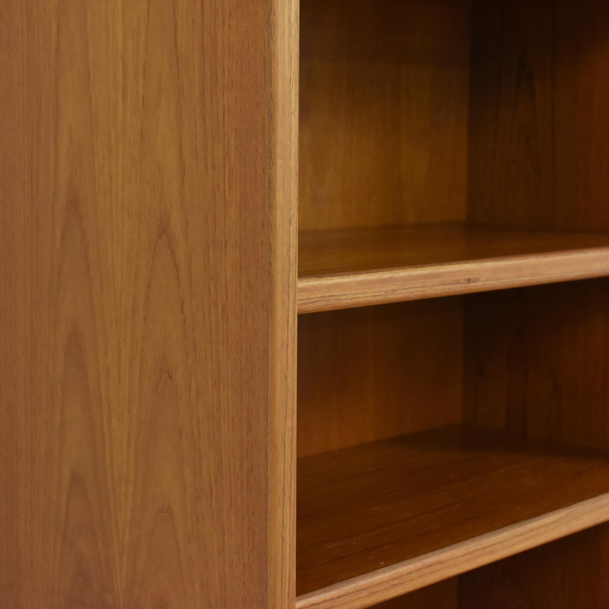 Image of: 65 Off Mid Century Modern Style Danish Bookcase Storage