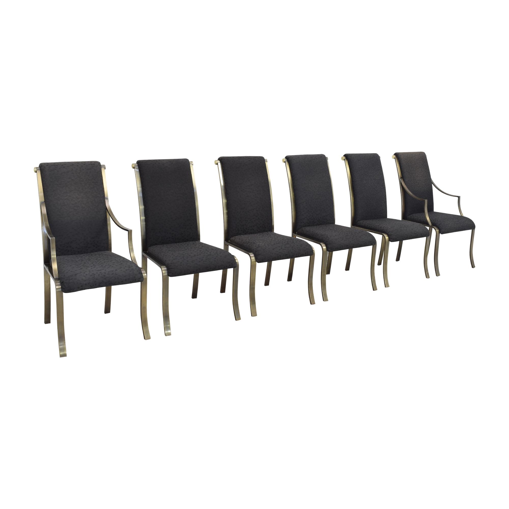 buy Design Institute America High Back Dining Chairs Design Institute America Chairs