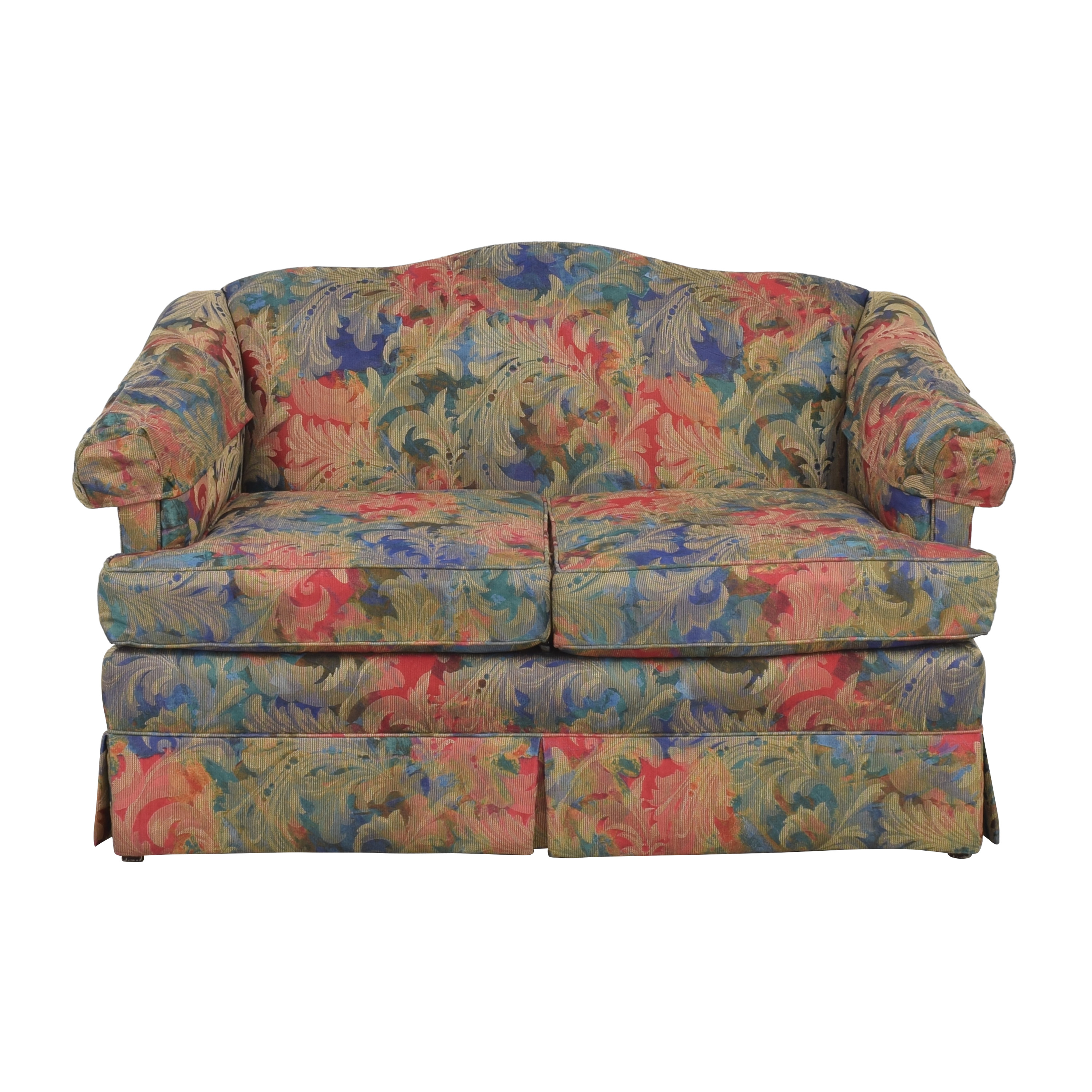 Broyhill Furniture Broyhill Floral Upholstered Loveseat nj