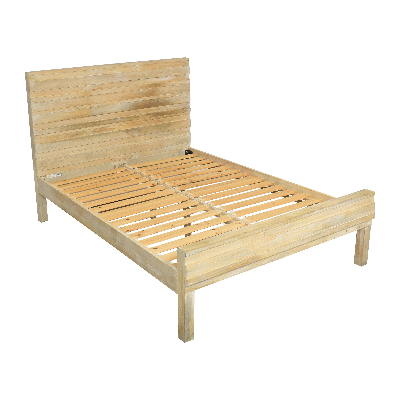 buy West Elm Stria Queen Bed West Elm Bed Frames
