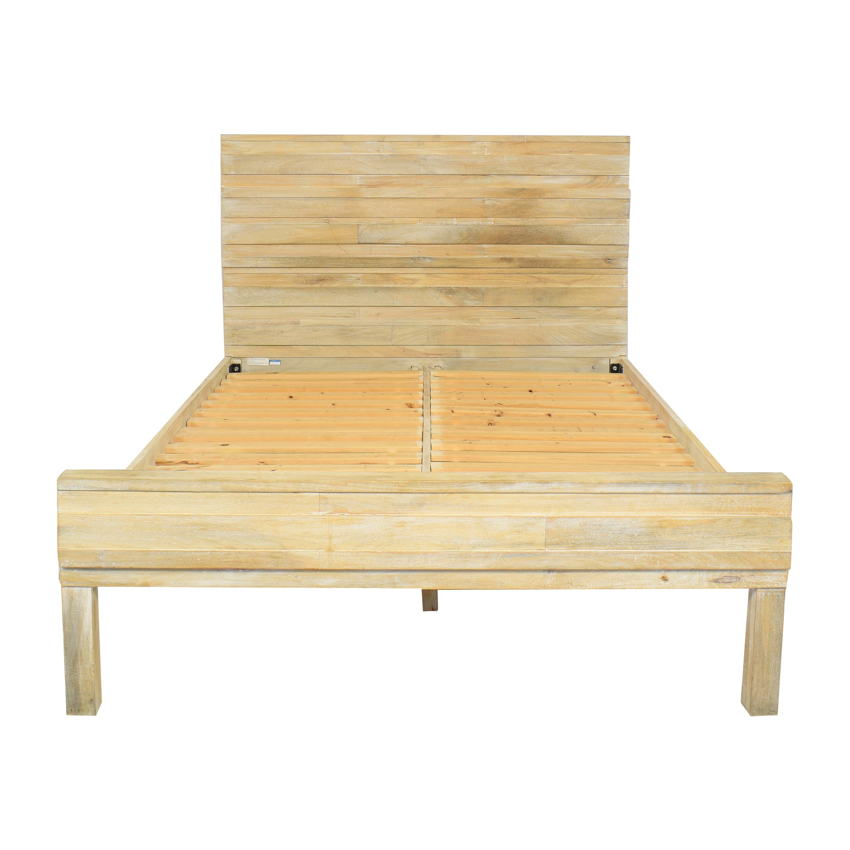 West Elm Stria Queen Bed / Bed Frames