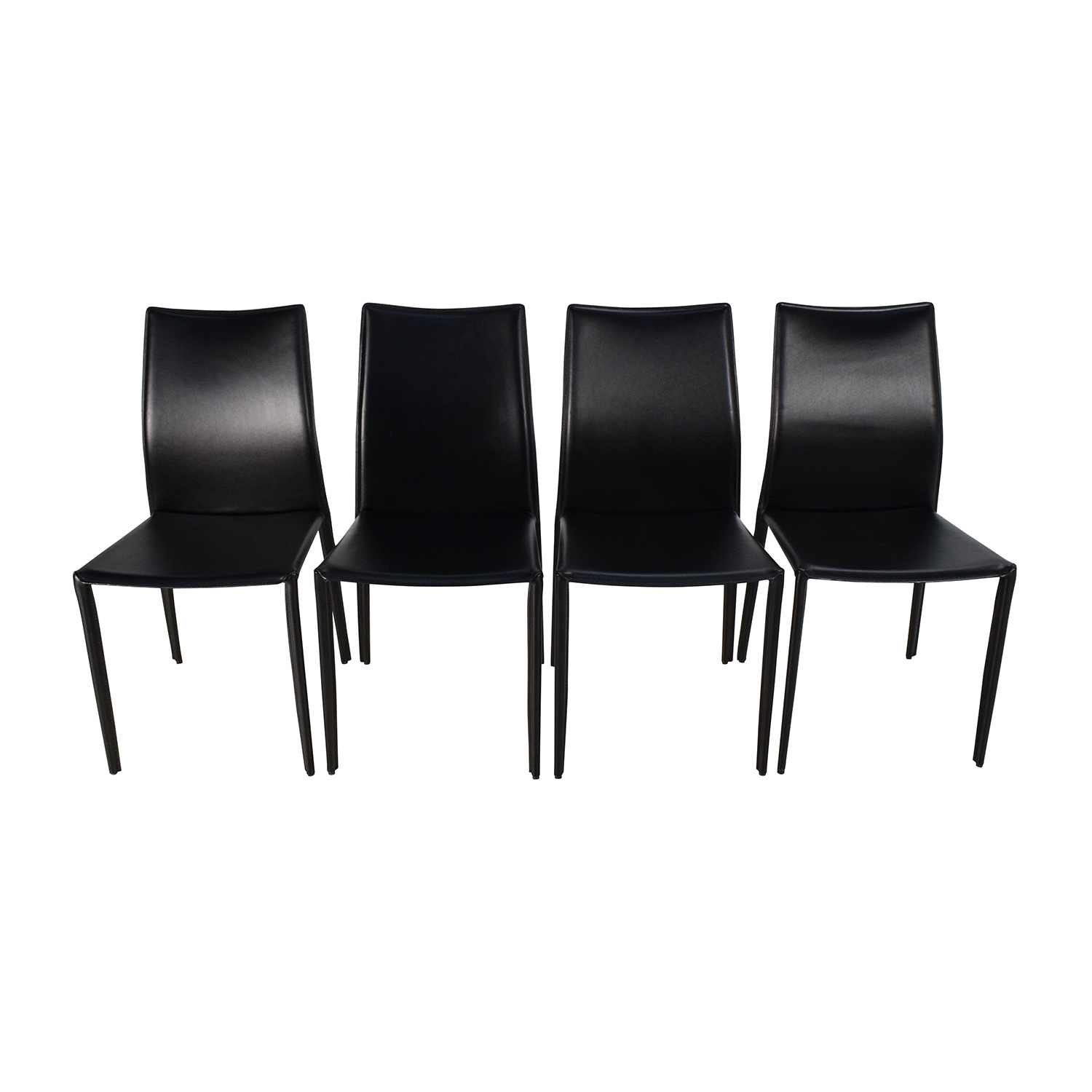 Modani Modani Bellagio Contemporary Dining Chair Set second hand