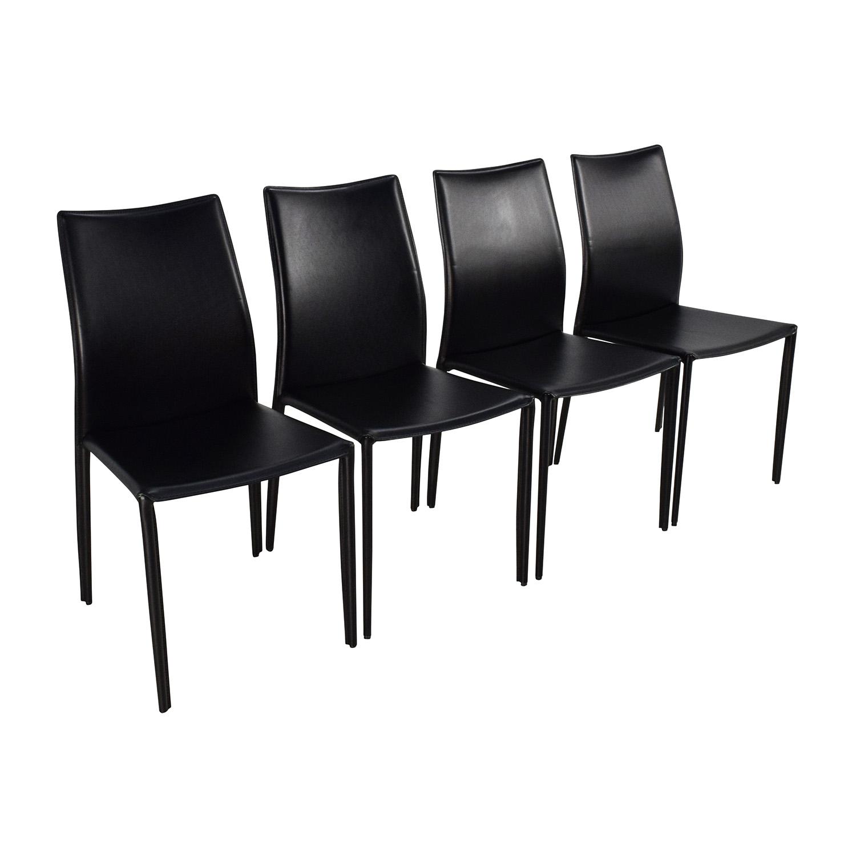 83 off modani modani bellagio contemporary dining chair for Contemporary dining chairs