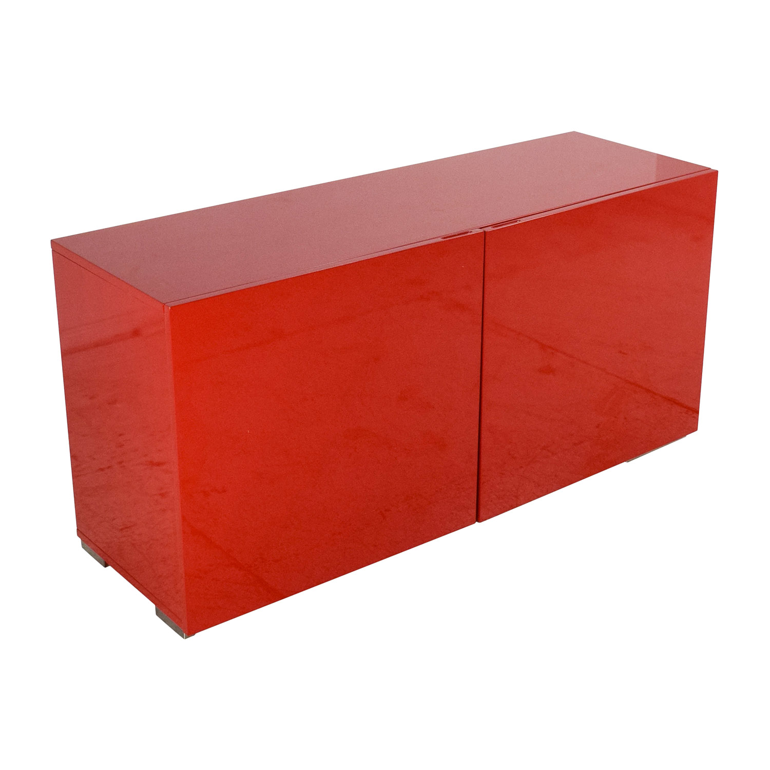 69 off cb2 cb2 fuel credenza in red storage for Sideboard petrol