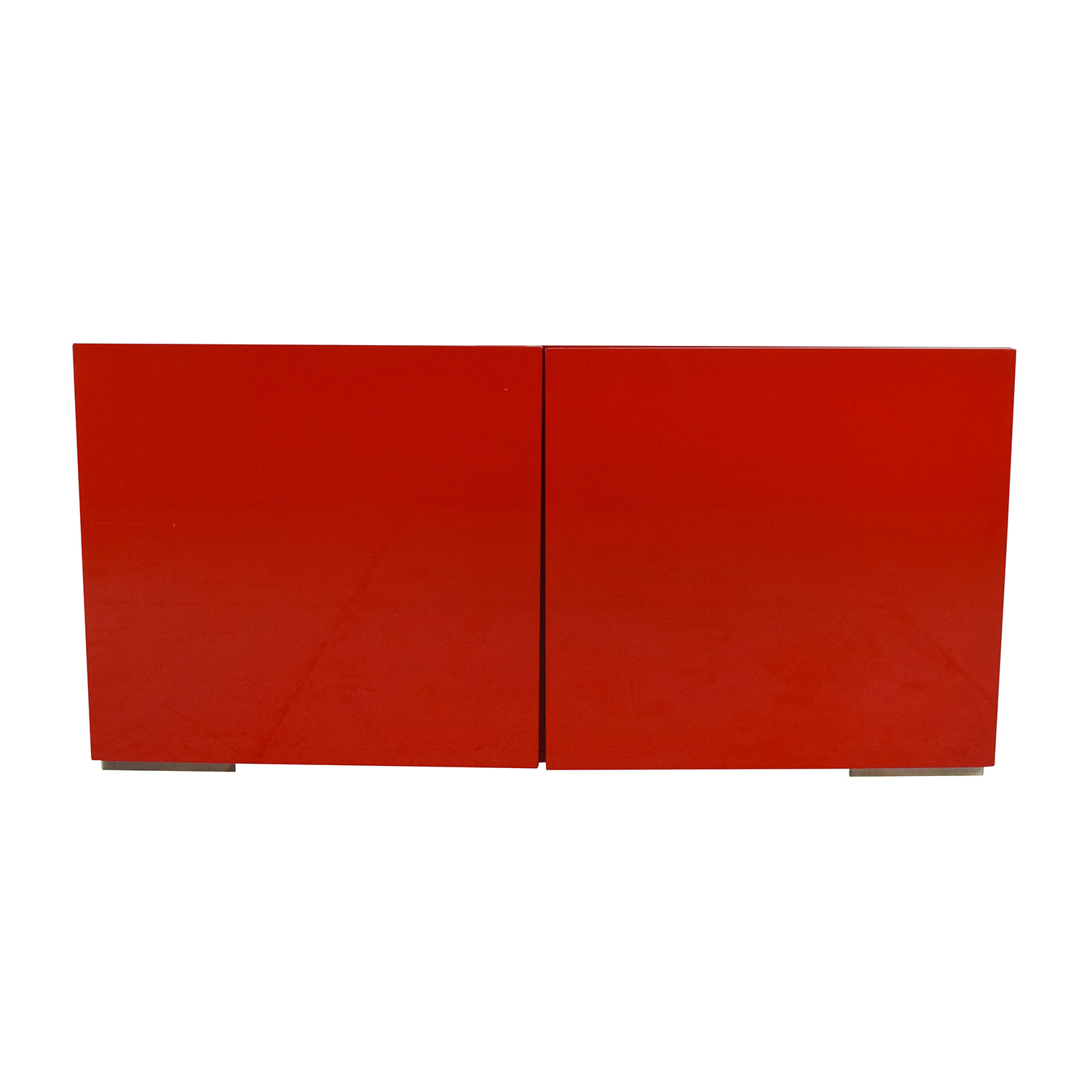 buy CB2 CB2 Fuel Credenza in Red online