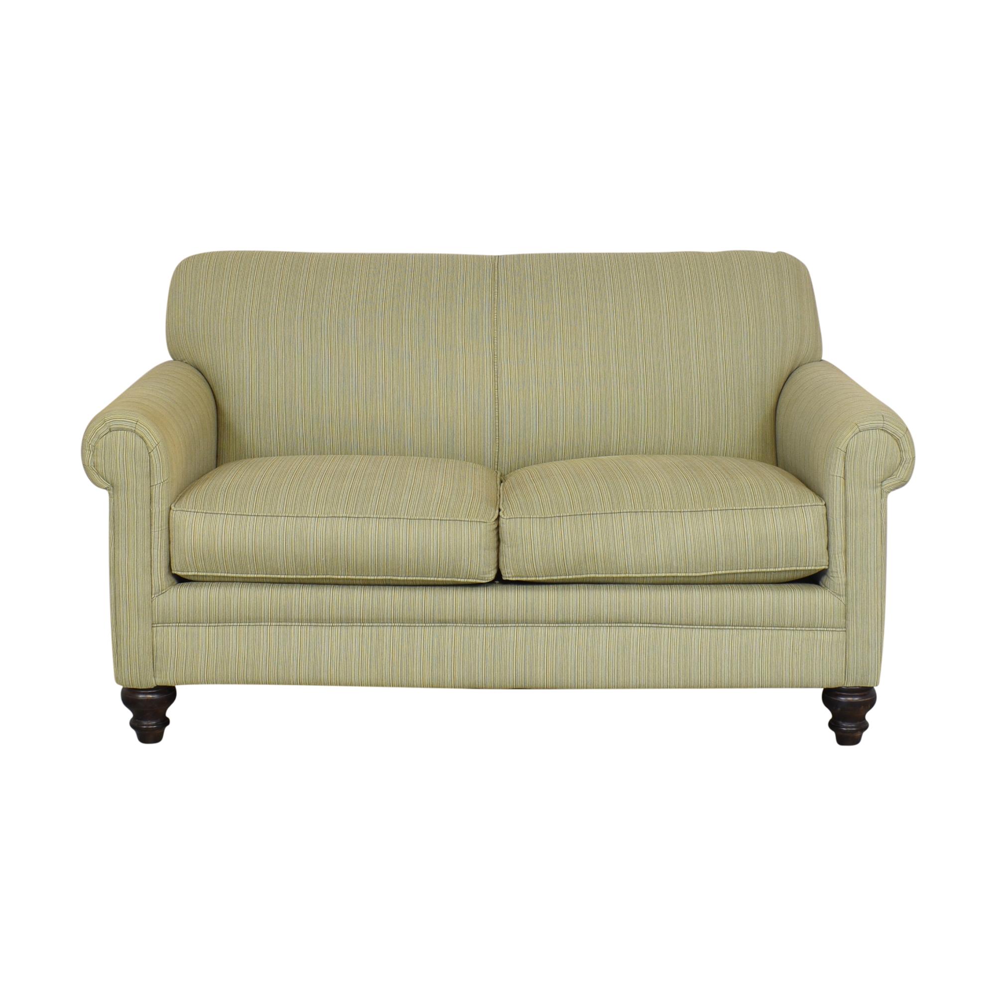 buy Rowe Furniture Roll Arm Loveseat Rowe Furniture