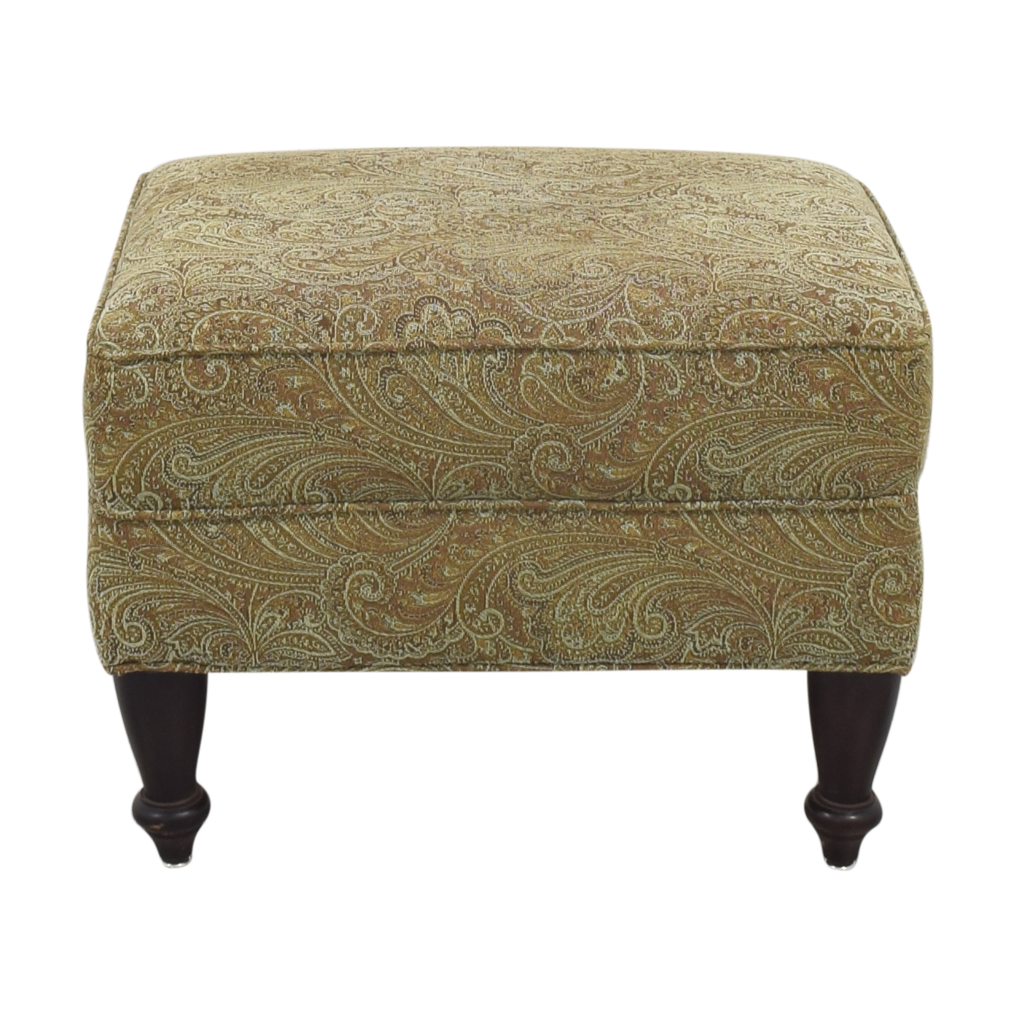 Rowe Furniture Rowe Furniture Upholstered Ottoman second hand