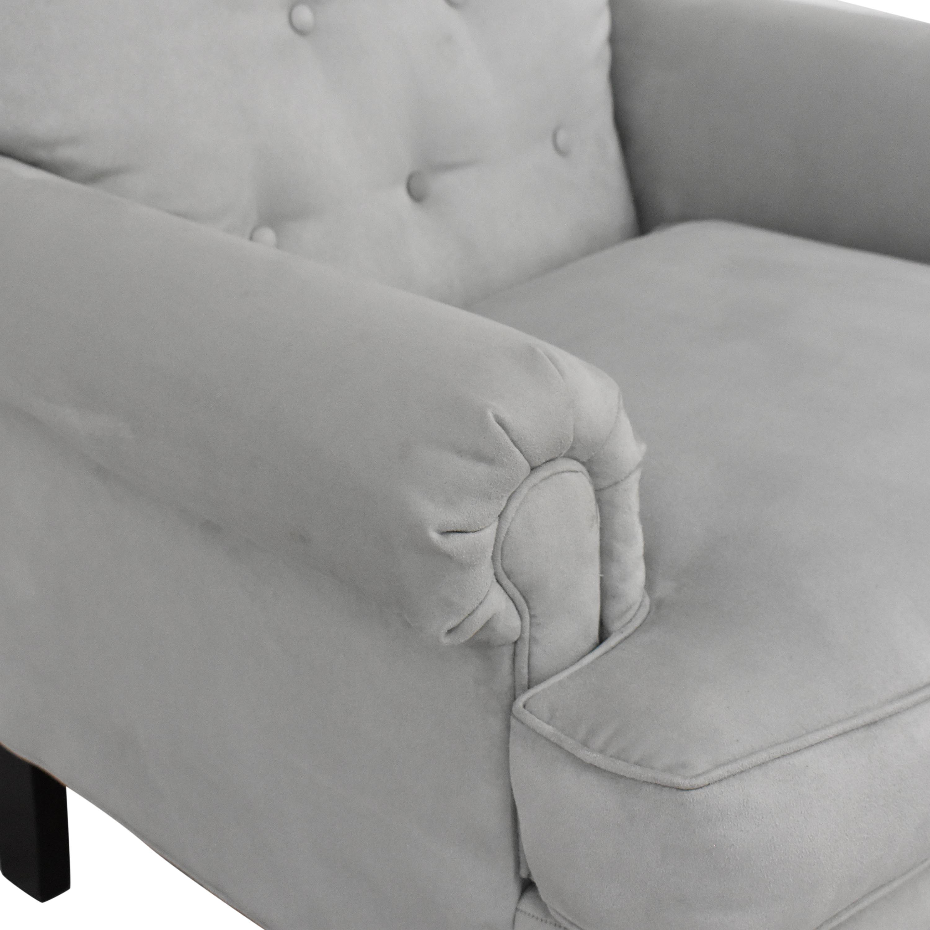 shop Rowe Furniture Rowe Furniture Roll Arm Accent Chair online