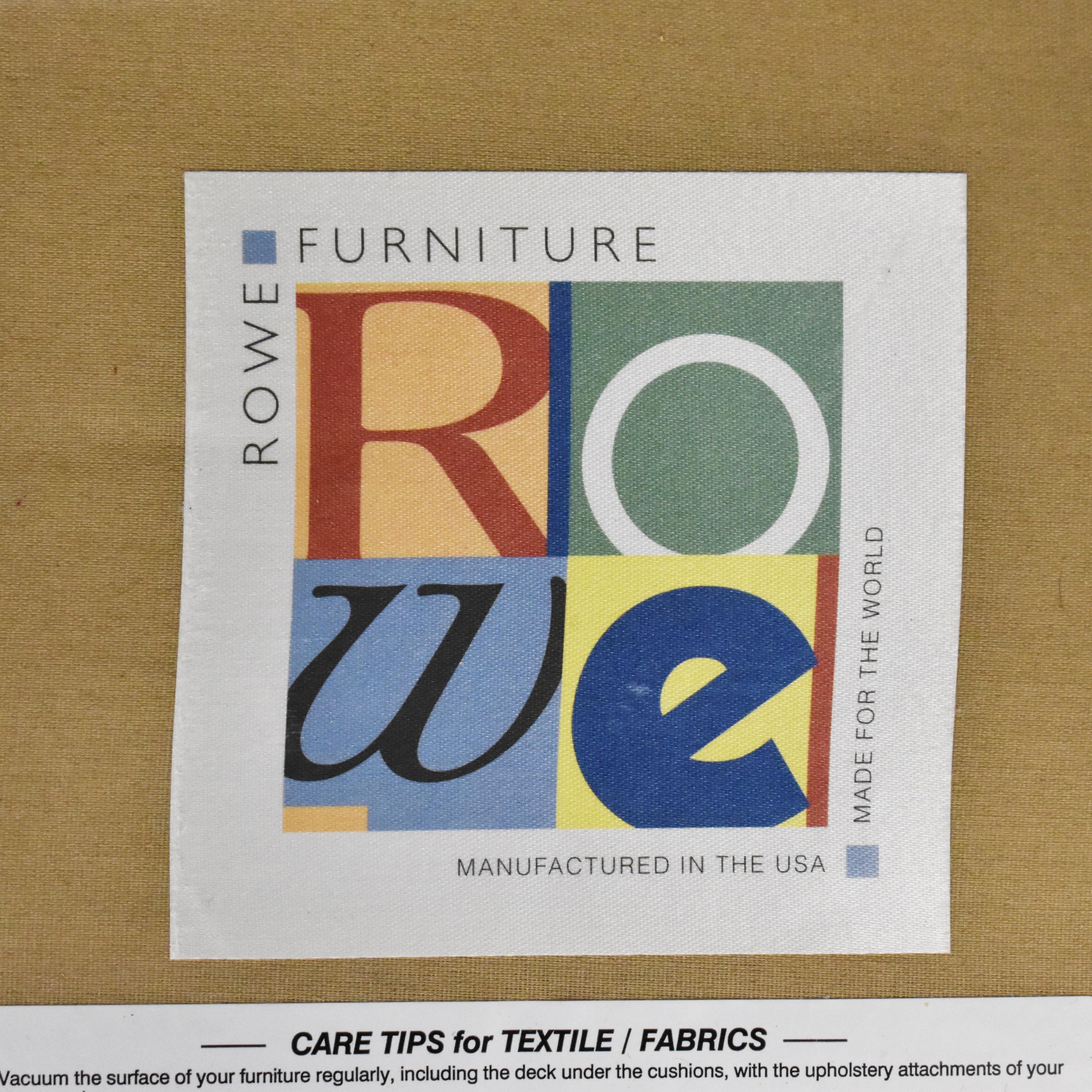 buy Rowe Furniture Roll Arm Accent Chair Rowe Furniture Accent Chairs