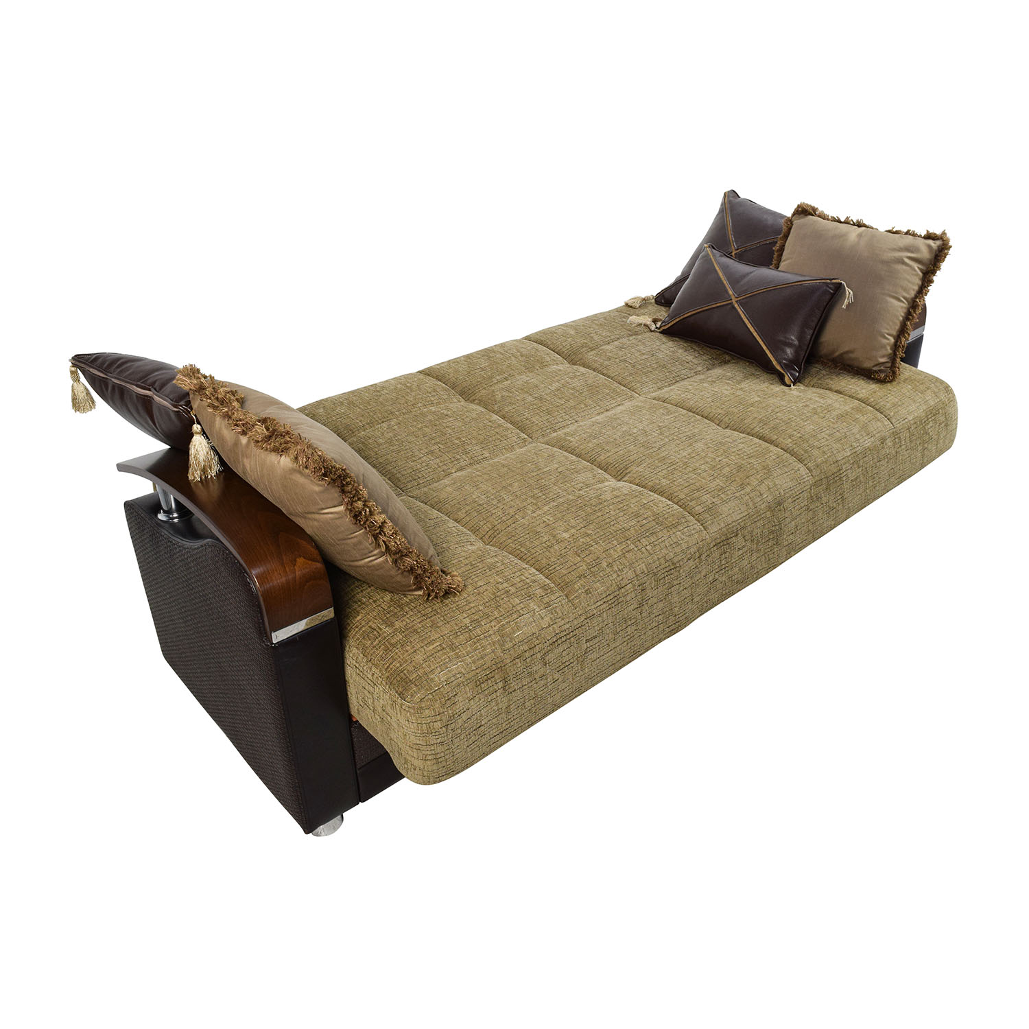 Luna sofa bed with storage wwwenergywardennet for Sectional sleeper sofa with storage and pillows