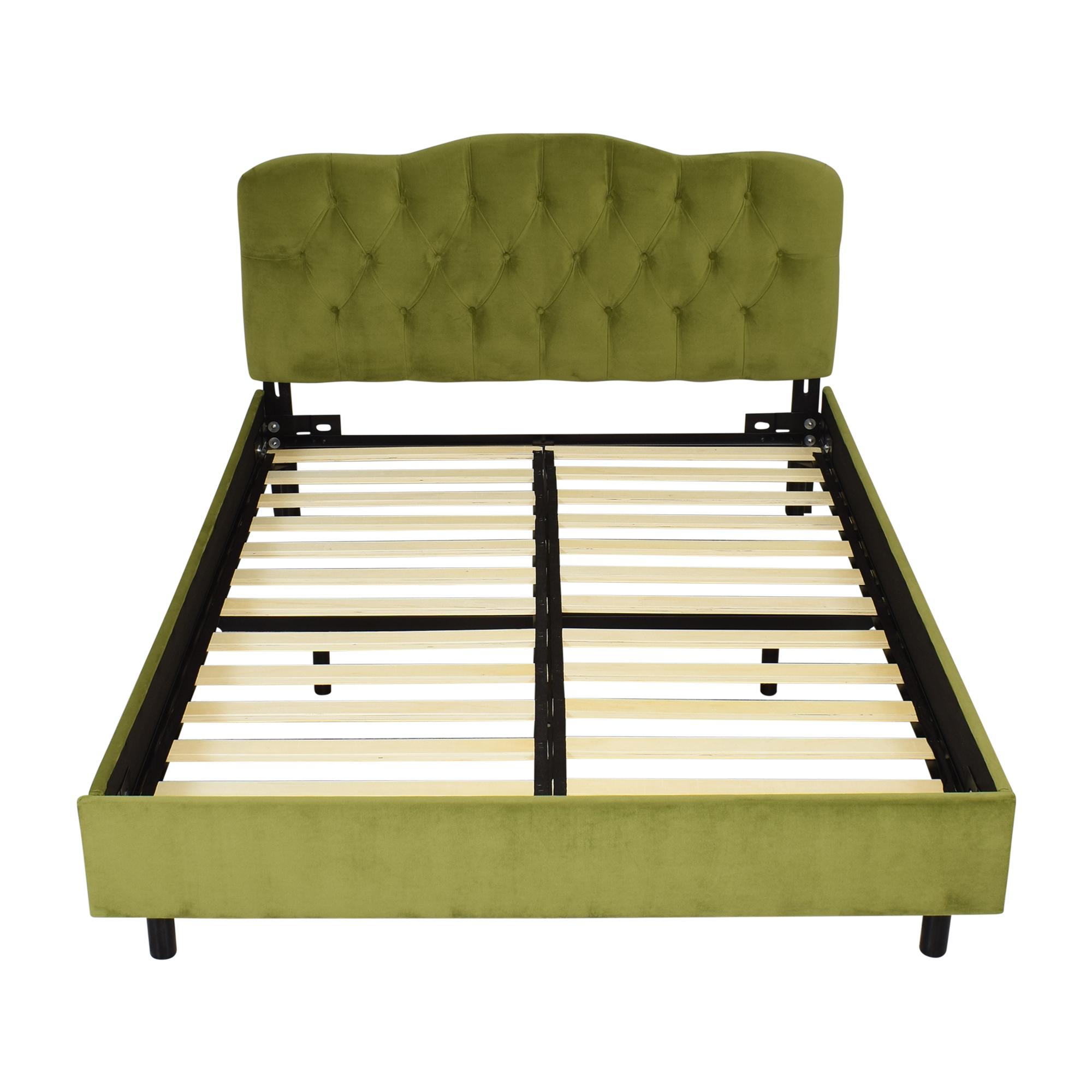 Skyline Furniture Skyline Furniture Argona Queen Bed green
