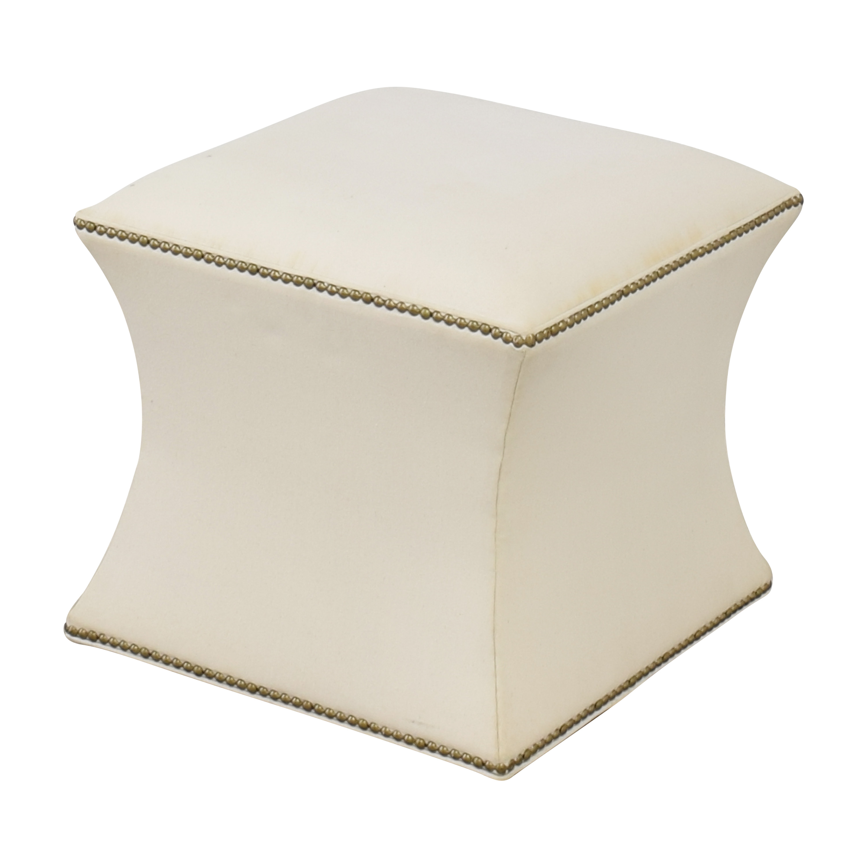 One Kings Lane Nailhead Trim Ottoman / Ottomans