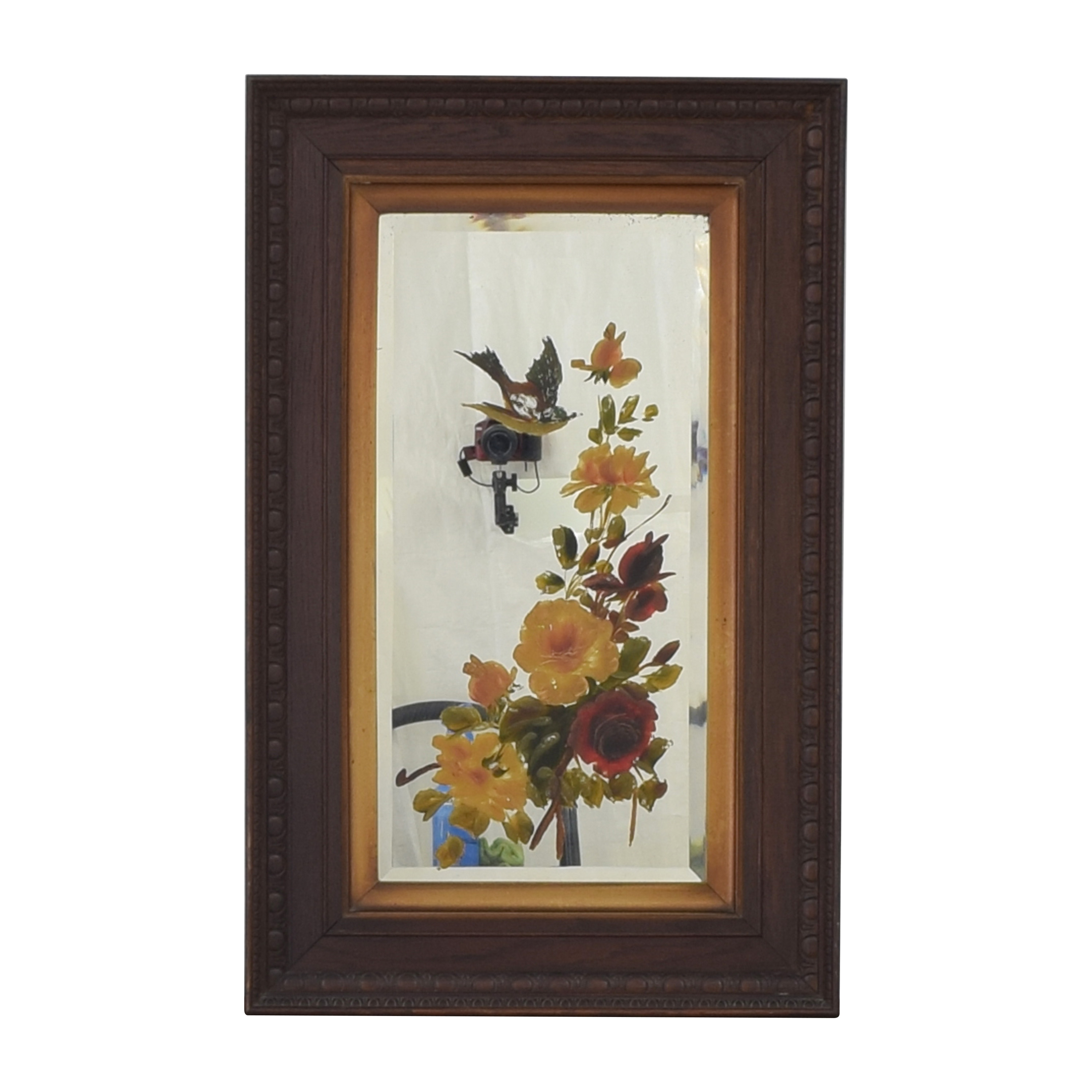 shop Decorative Painted Wall Mirror
