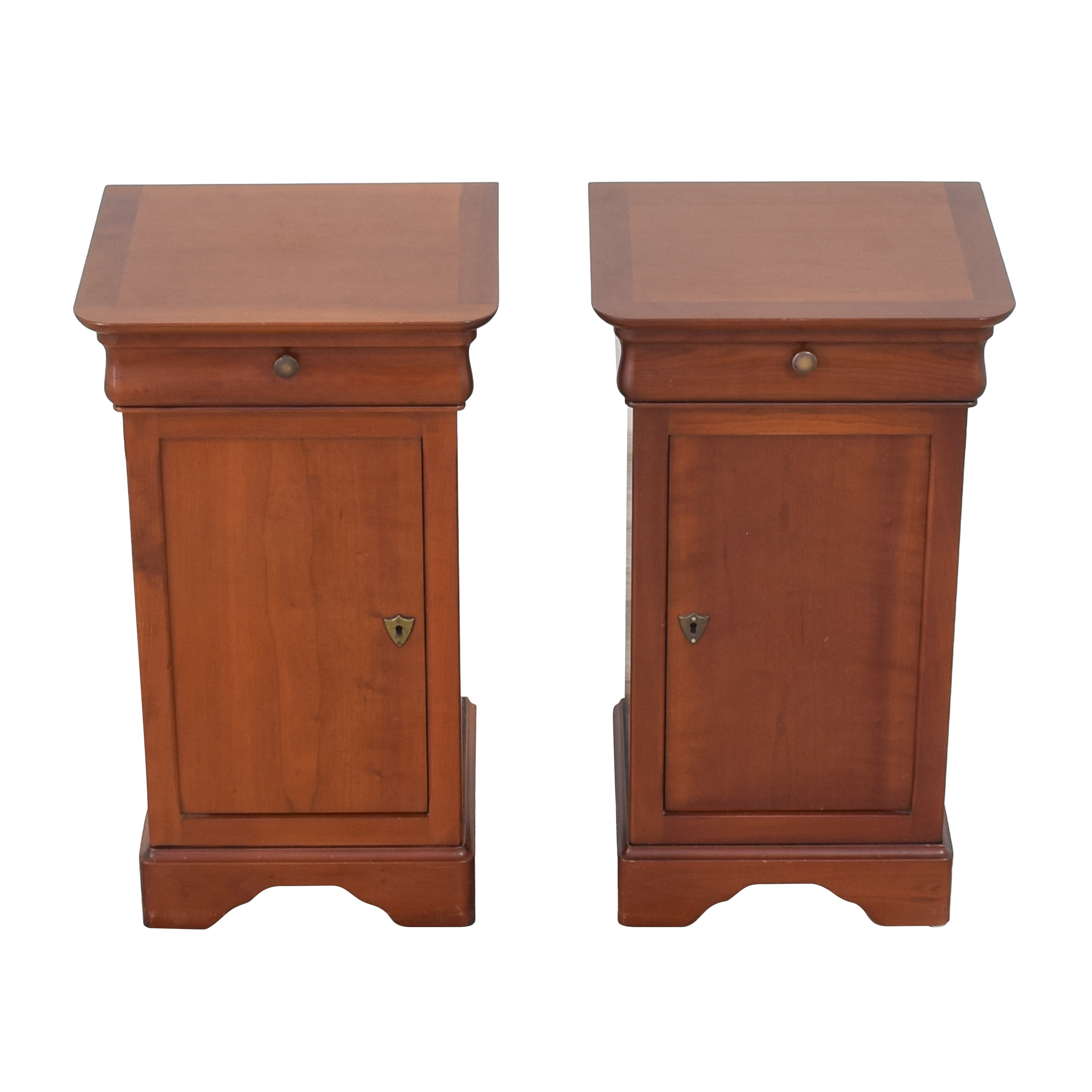 Grange Grange Louis Philippe Style Cherry Night Stands dimensions